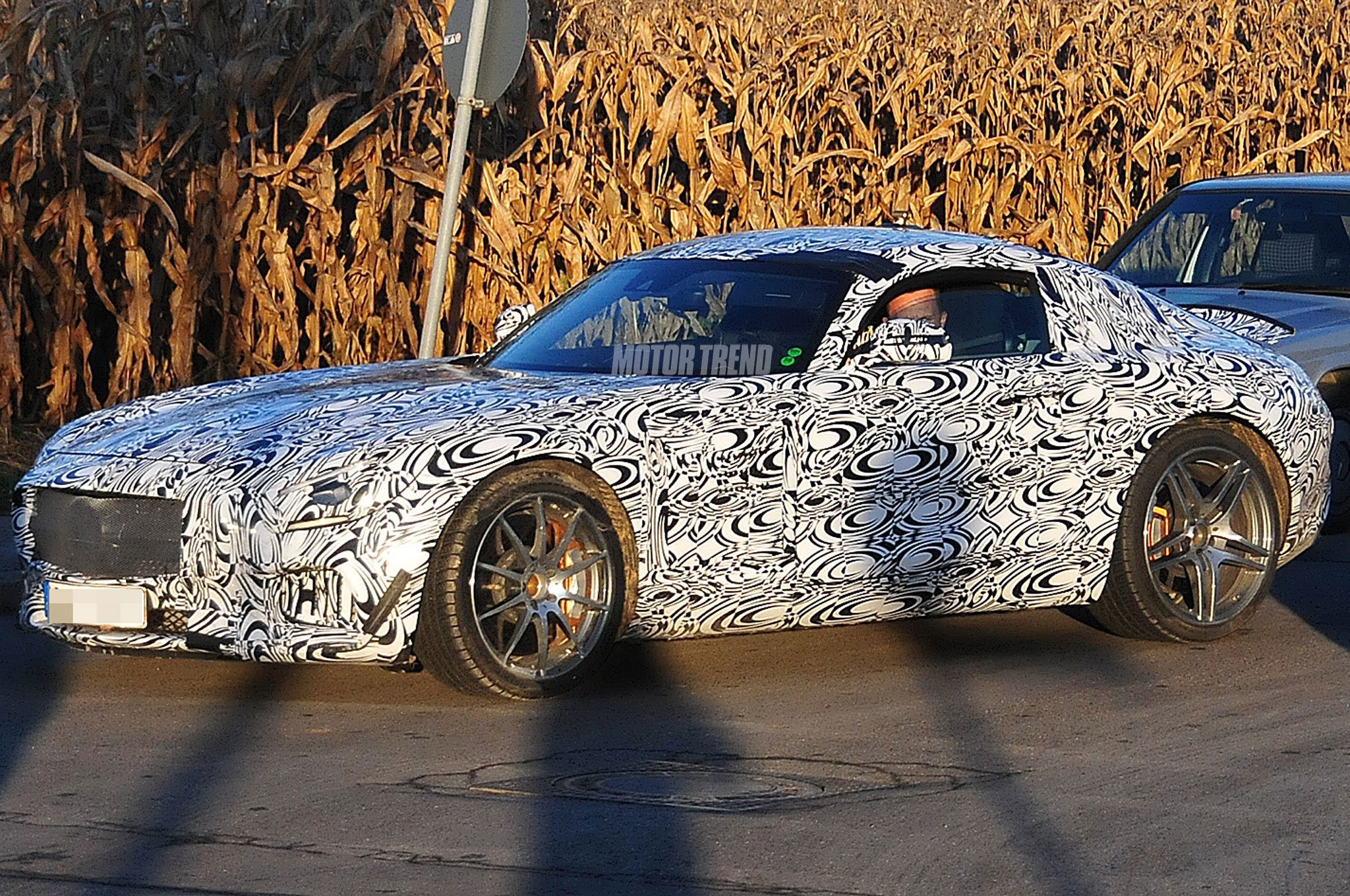 Spied: 911-Fighting Mercedes AMG GT Coupe, 2015 C-Class Wagon