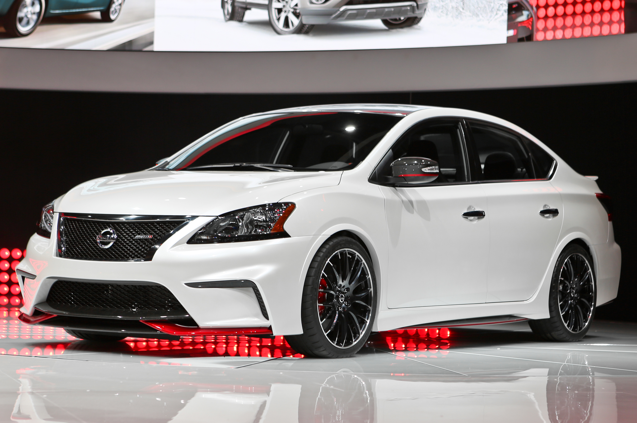 Nissan Sentra Nismo Concept Debuts With 240 Hp Turbo I 4 Motor Trend