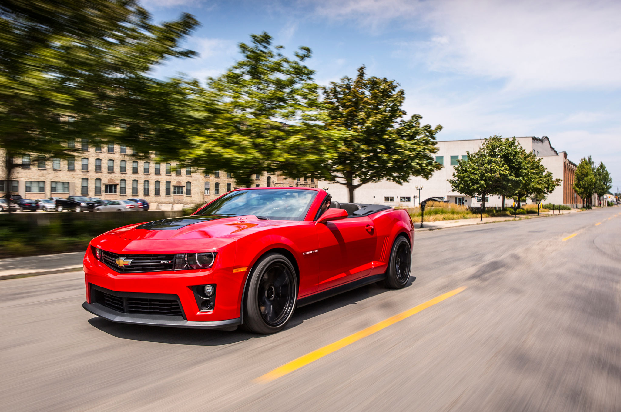 2014 chevrolet camaro zl1 convertible first test - motortrend