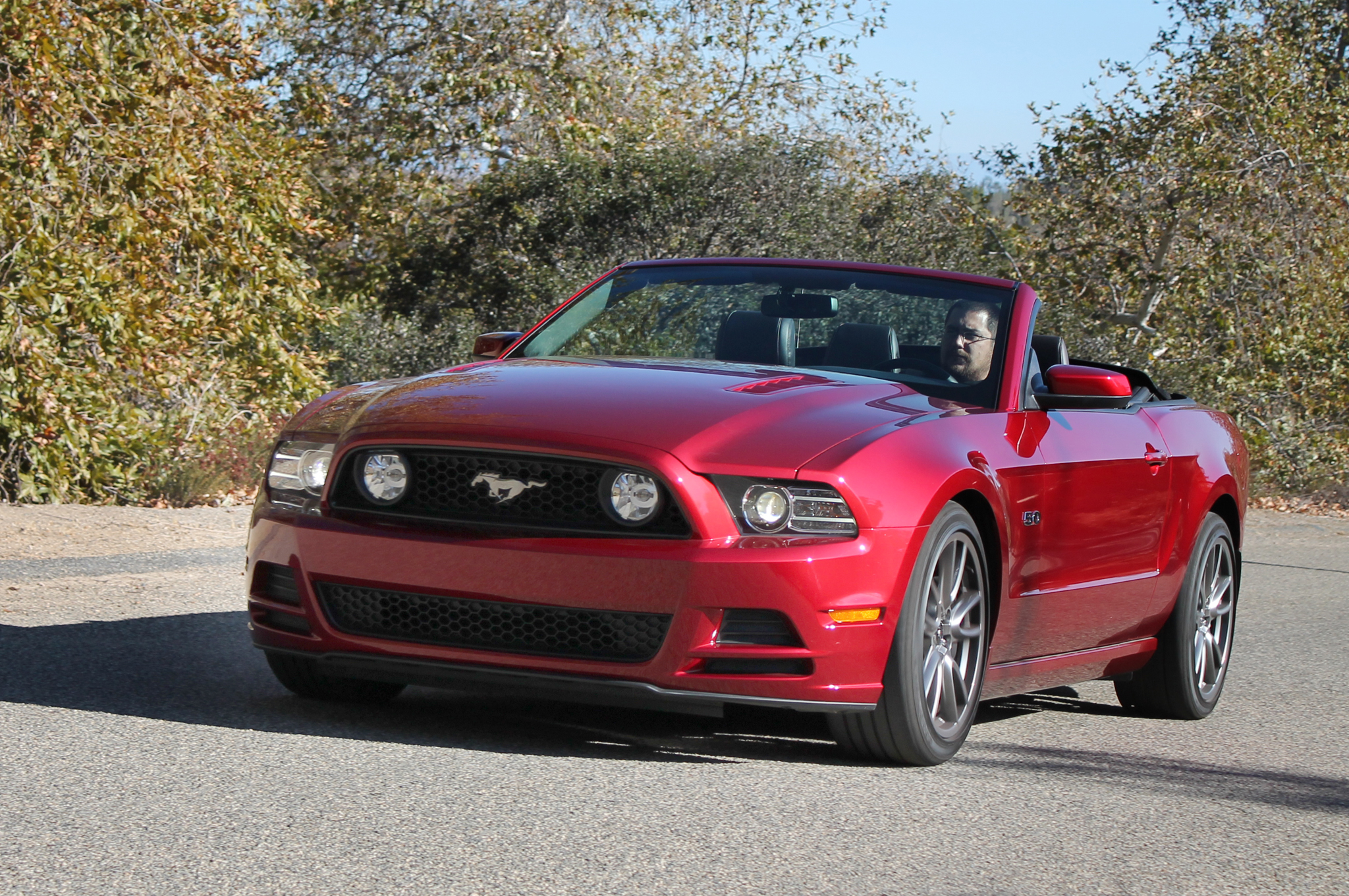 2014 ford mustang gt convertible first test