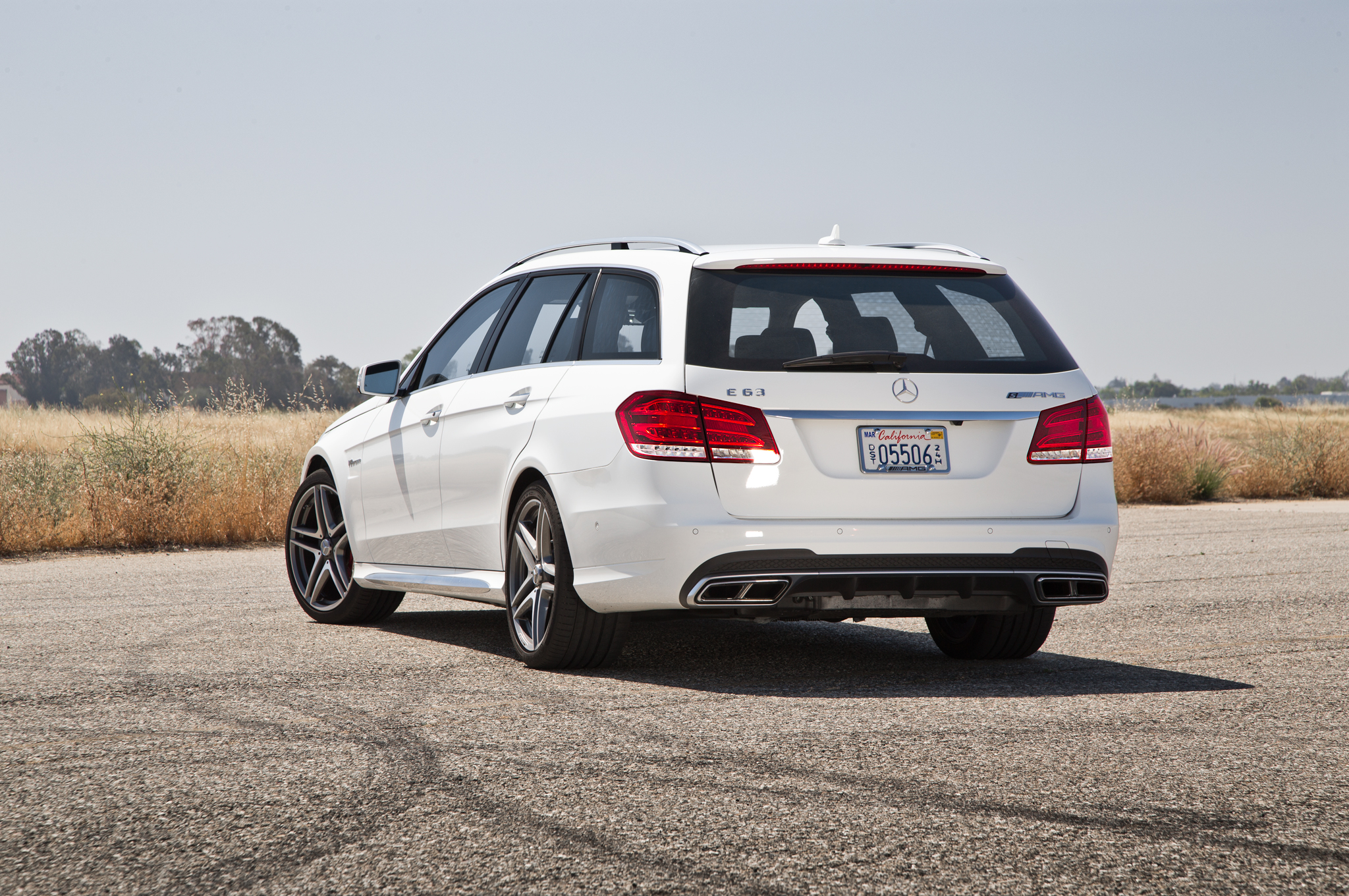 Mercedes E63 AMG Wagon: Faster Than a Speeding Bullet? Just About