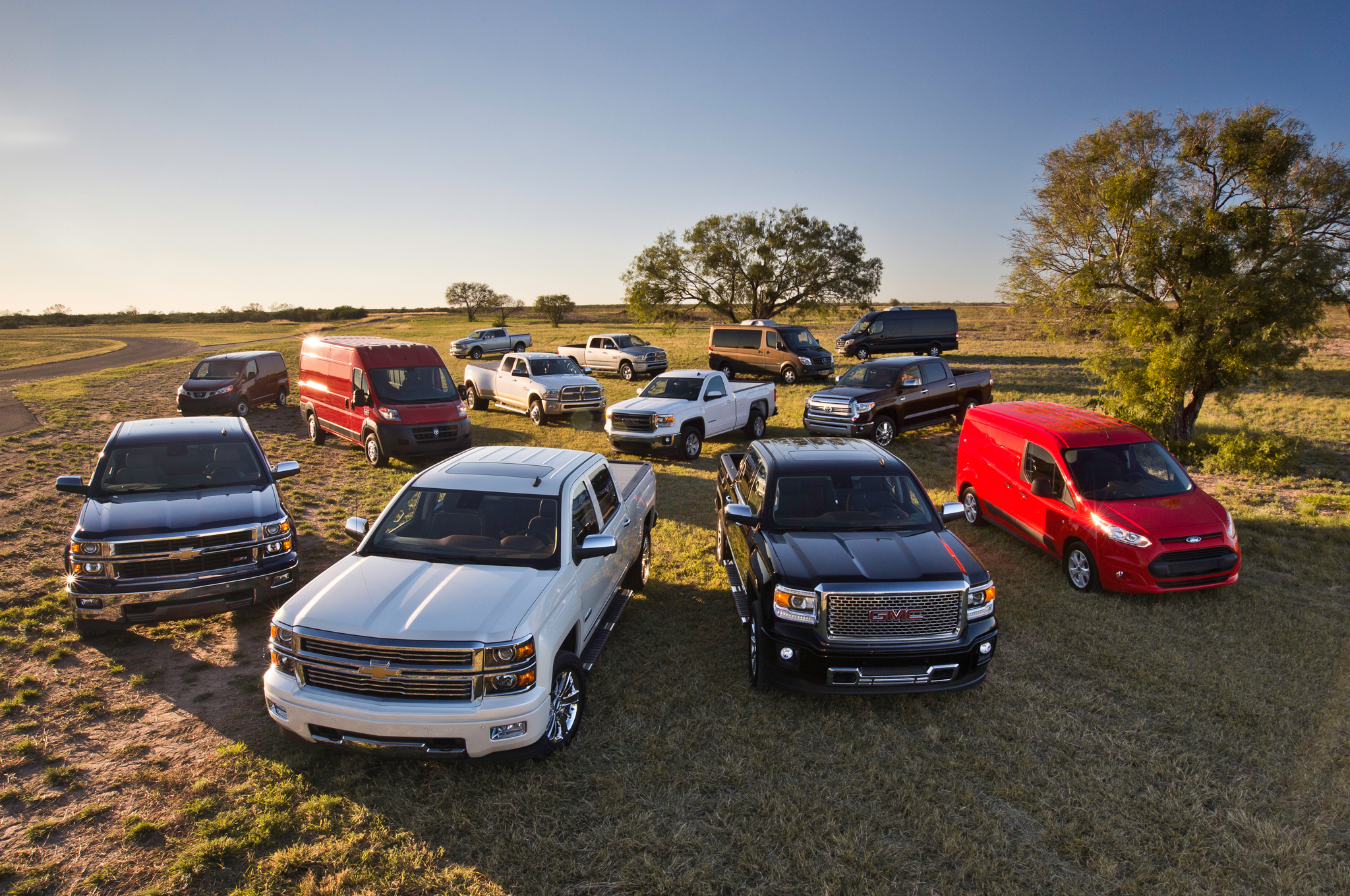 Motor Trend 2014 Truck of the Year Contenders