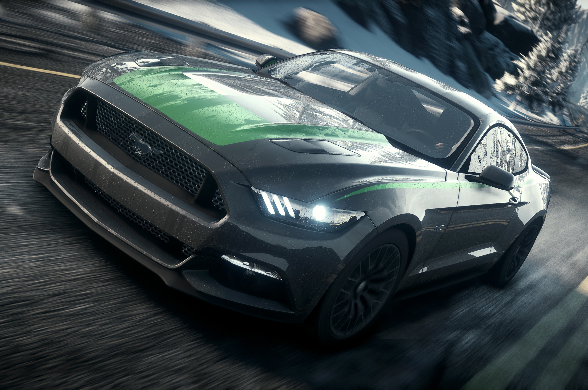 2015 ford mustang need for speed virtual drive motor trend