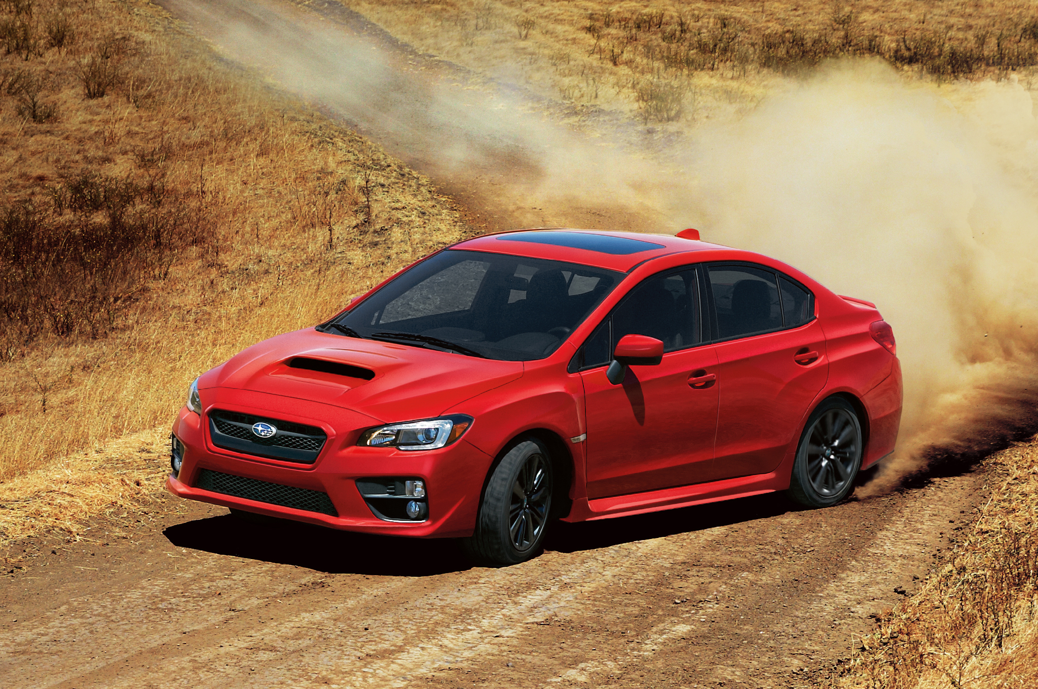 Watch the 2015 Subaru WRX in Some Rally-Style Action