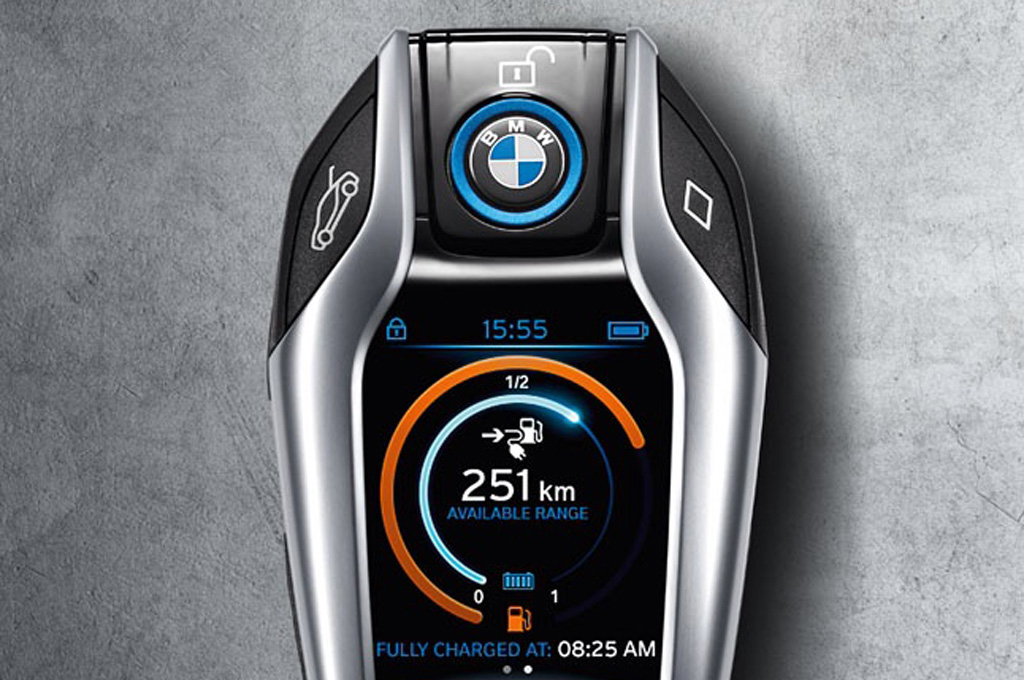 Is this the 2014 BMW i8's Revolutionary Key Fob?