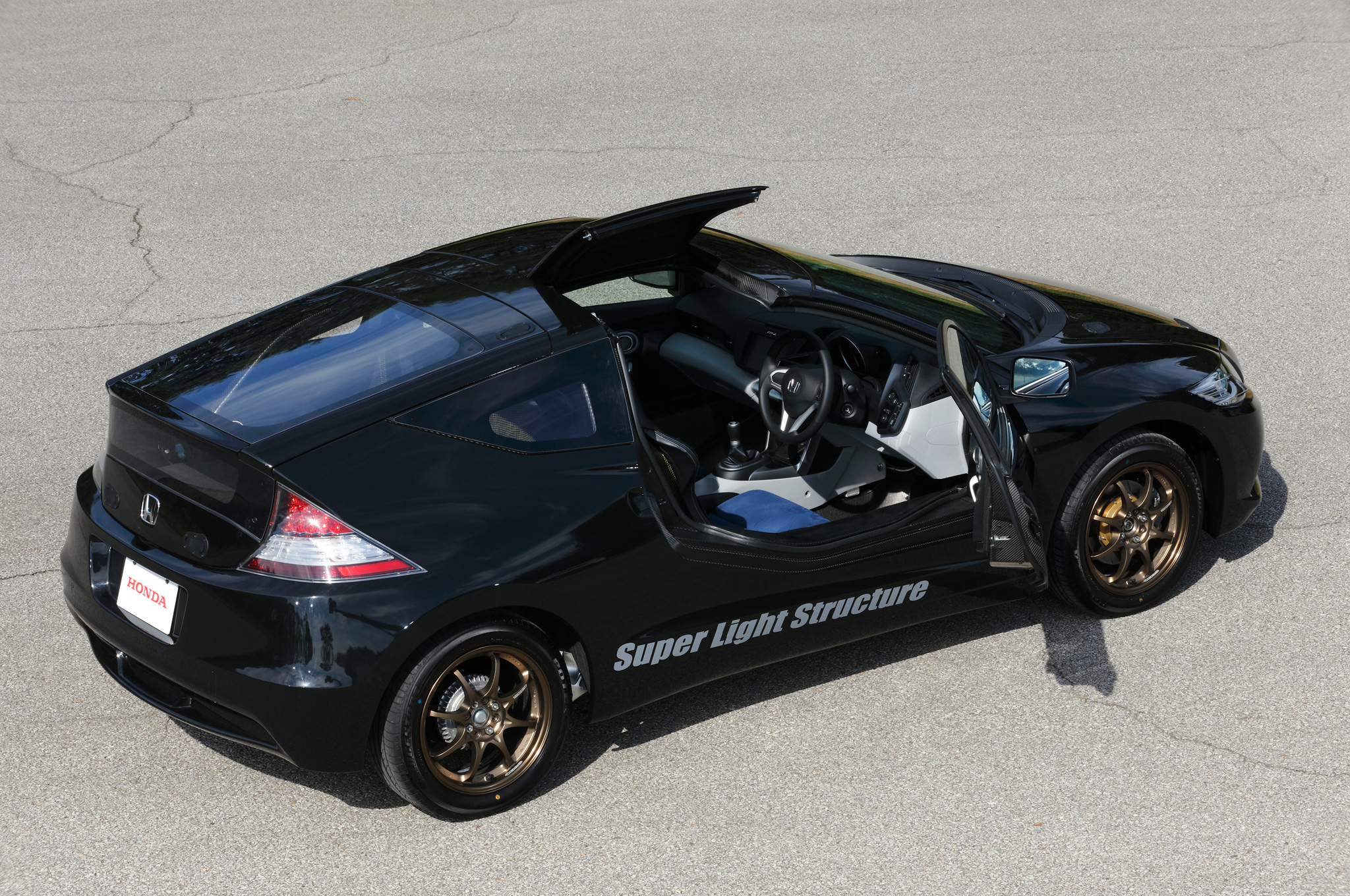 Honda-CR-Z-test-car-super-light-structure-above-side-view Cool Review About 2015 Cr Z with Captivating Pictures Cars Review