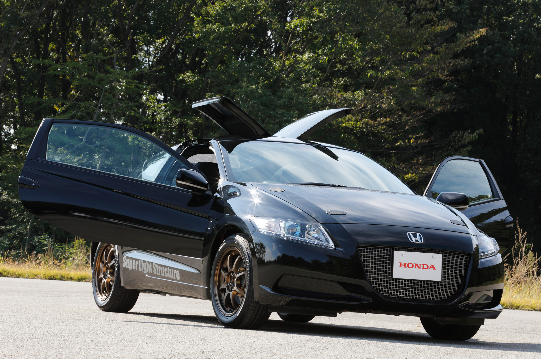 Honda-CR-Z-test-car-super-light-structure-front-view Cool Review About 2015 Cr Z with Captivating Pictures Cars Review