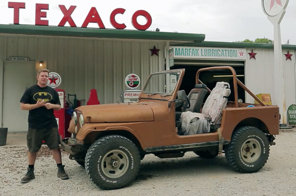 Dirt Every Day Buys 1978 Jeep Cj 7 Craigslist Special Motortrend