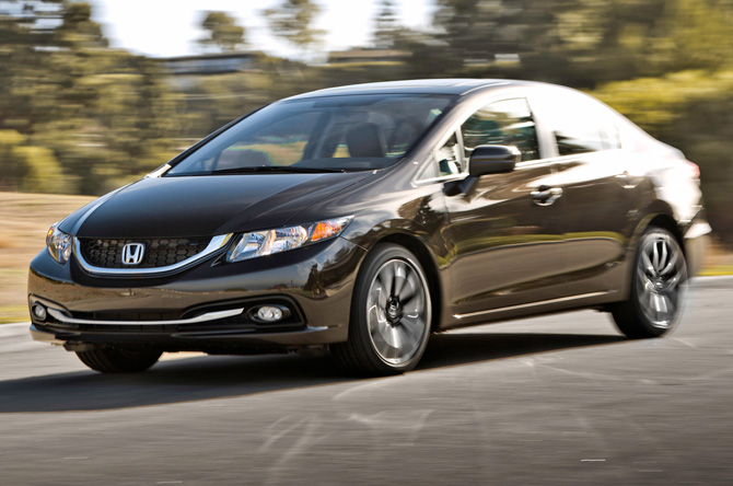Honda Civic Obliterates Compact Sales In 2013