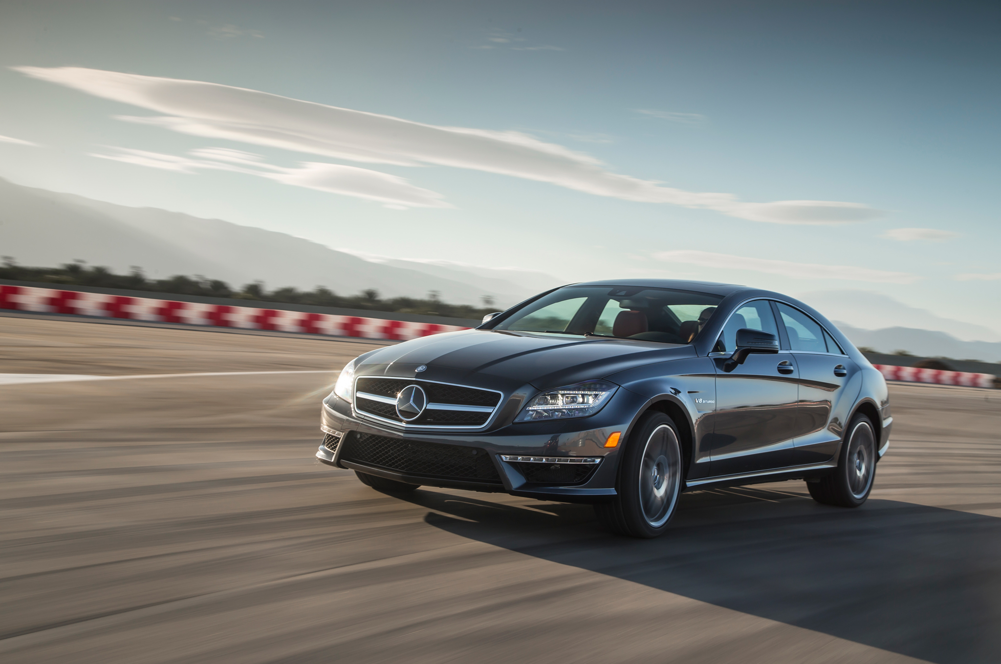 Pretty and Fast: 2014 Mercedes CLS63 AMG S on Ignition (W/Video)