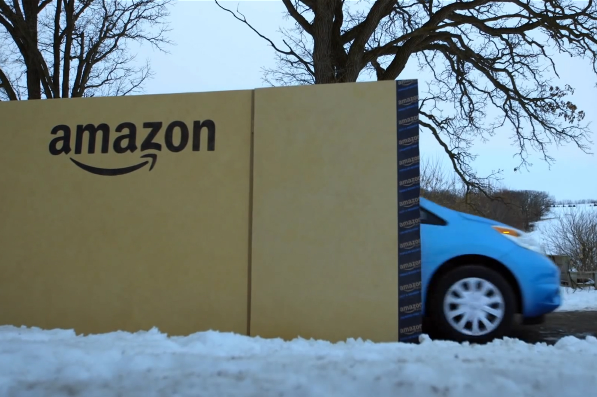Nissan Versa Note Gets Delivered in Giant Amazon Box (W/Video)