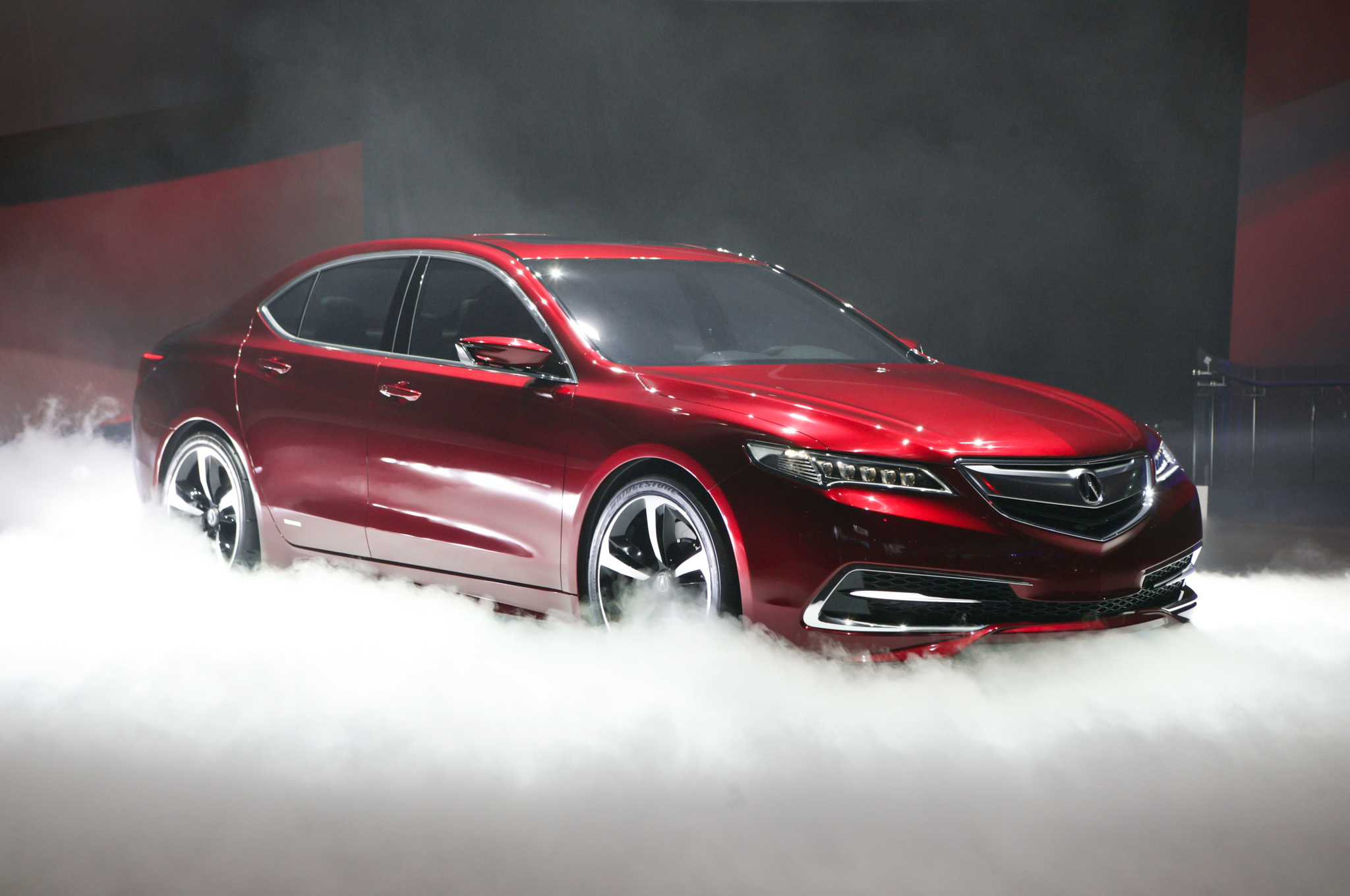 acura tlx prototype unveiled, brings sexy back to brand