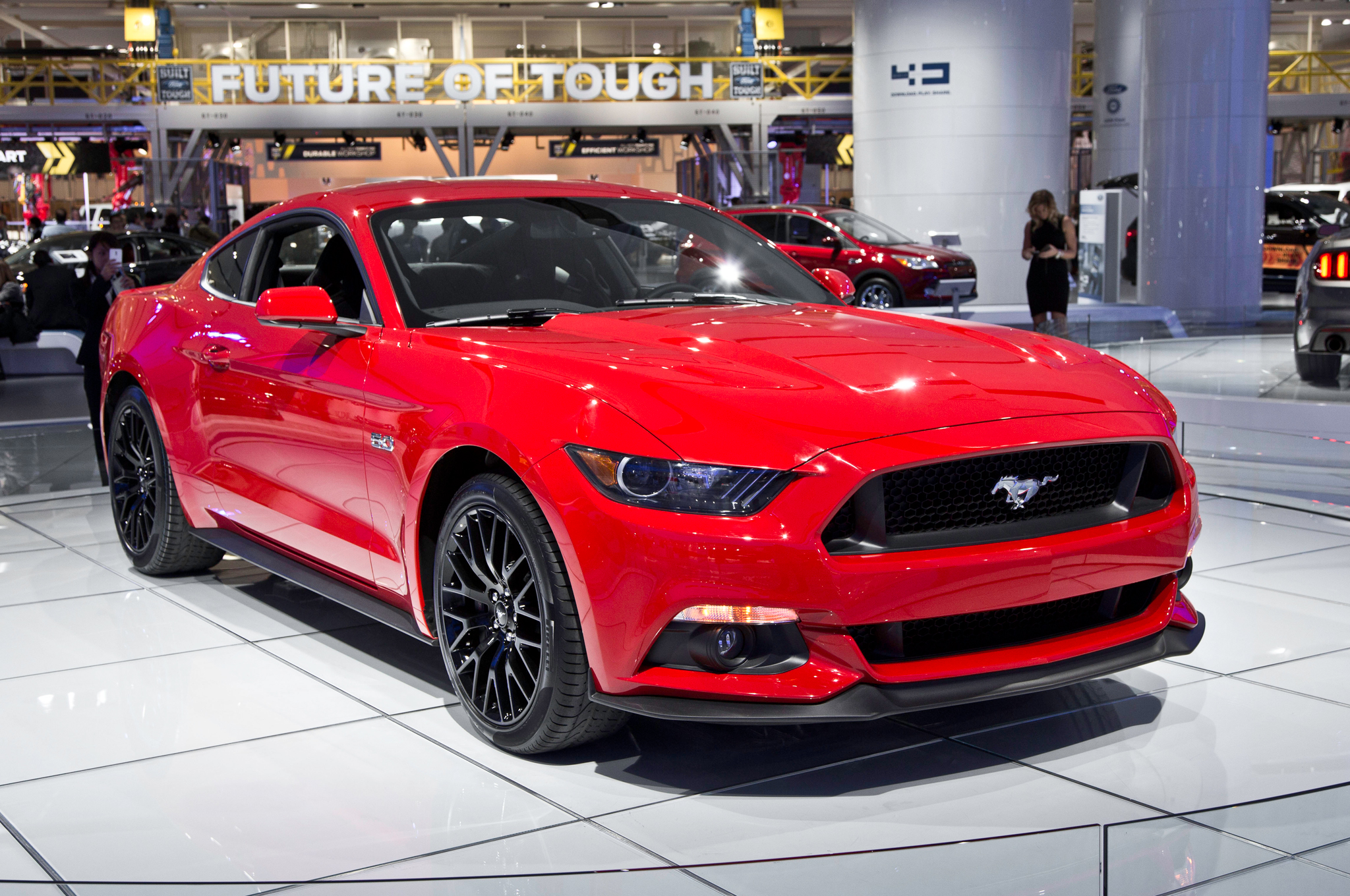First 2015 Ford Mustang GT Hitting the Auction Block - Motor Trend