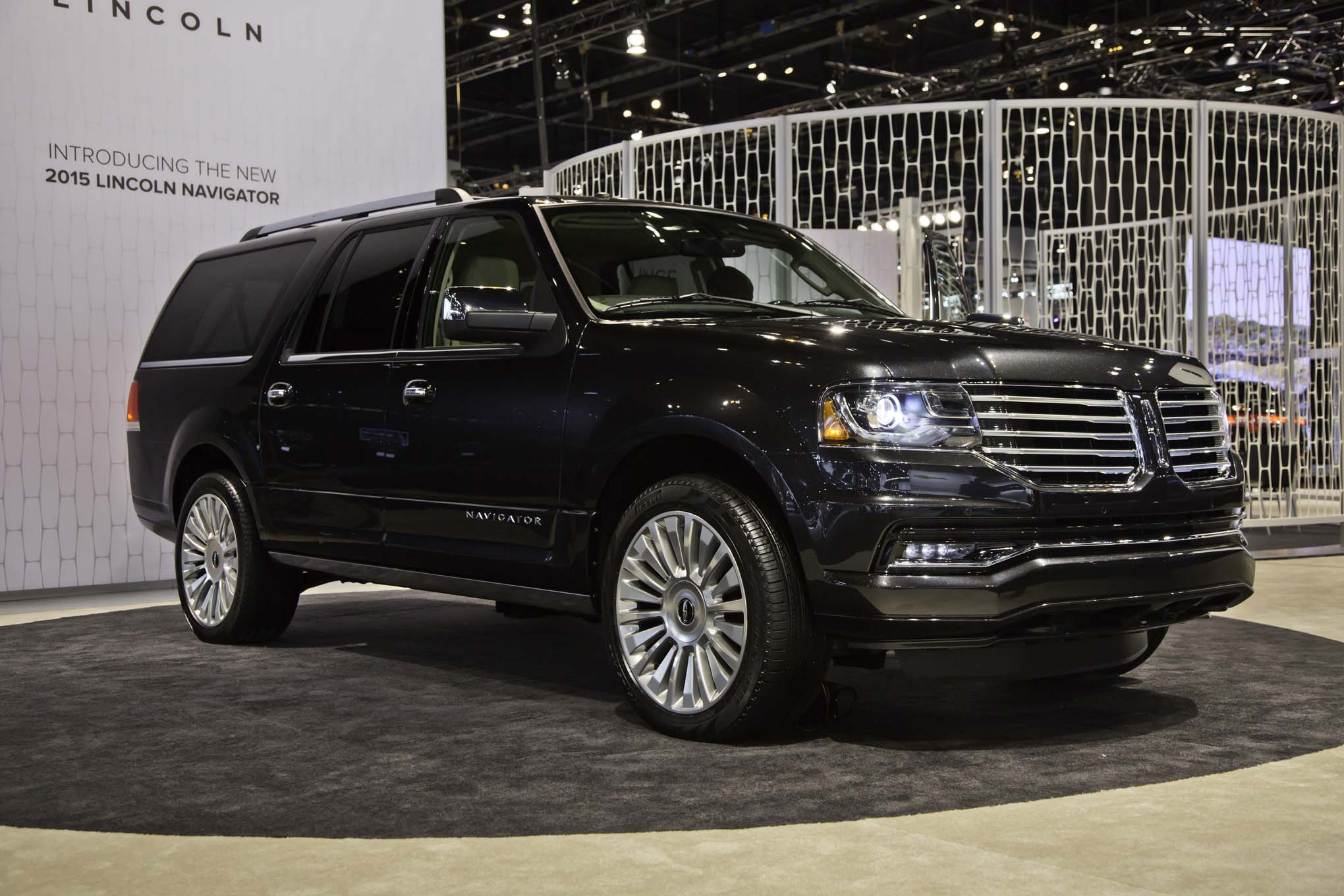 Awesome 2015 Lincoln Navigator First Look Gallery