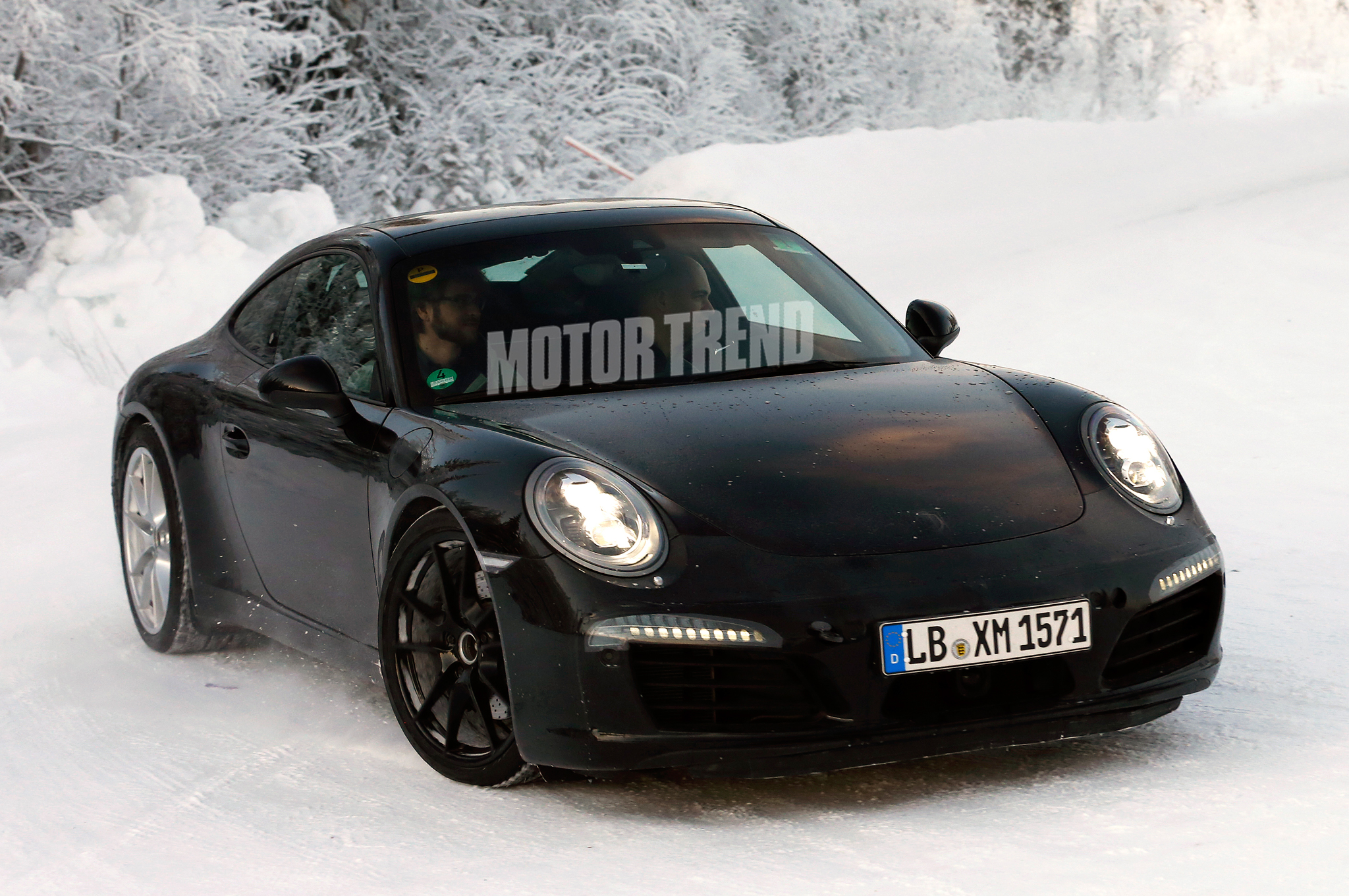 Spied! Porsche 911 Mid-Cycle Refresh Could Bring Downsized Turbo Engines