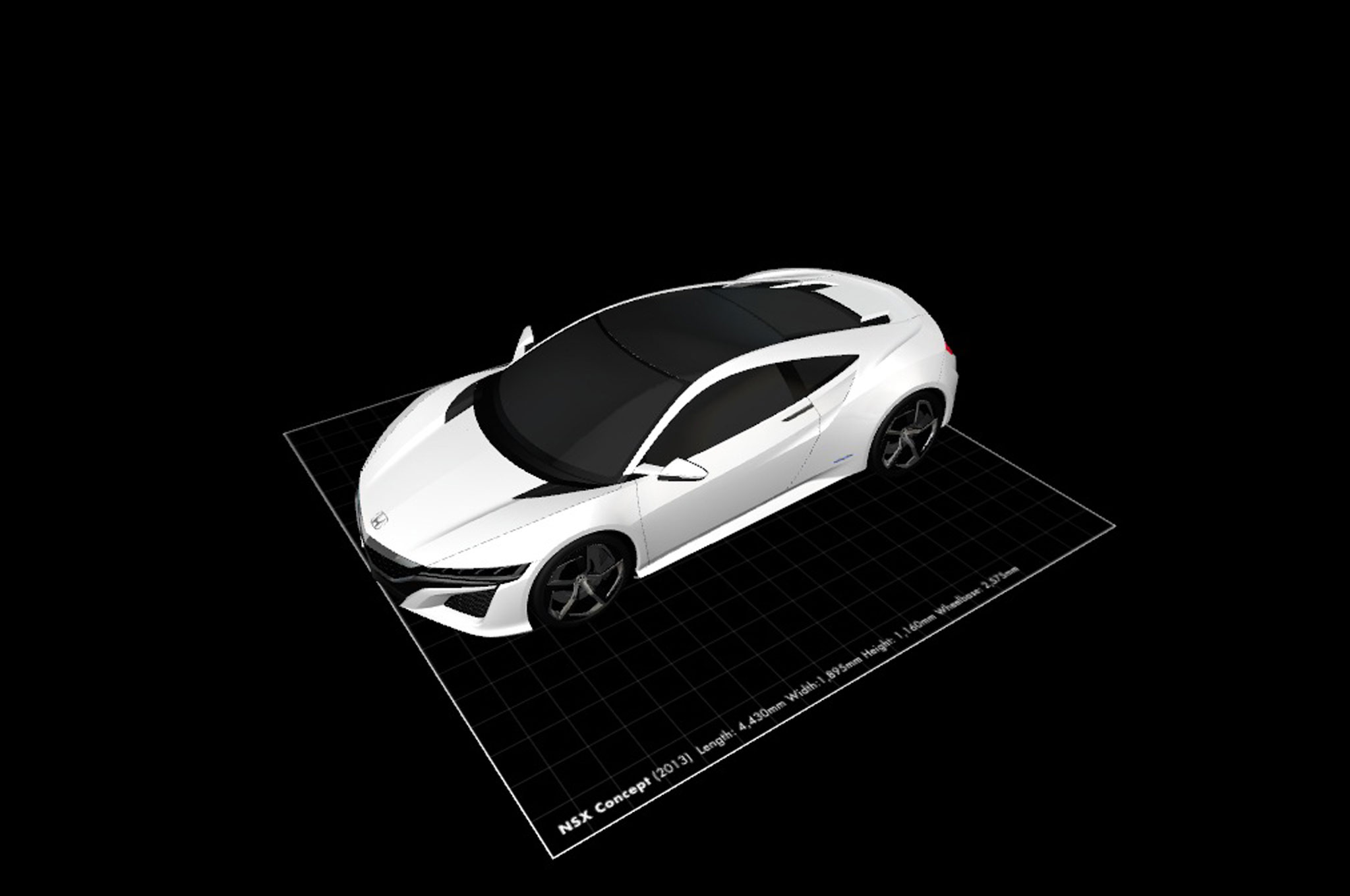 Now Printable in 3D: Acura NSX Concept