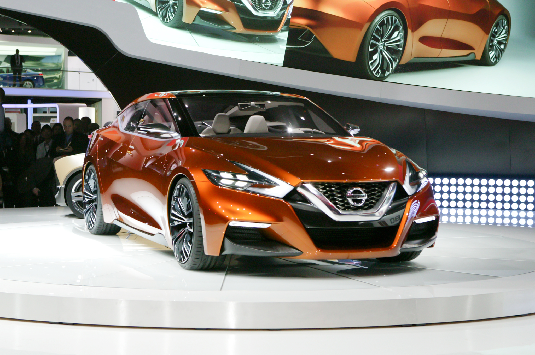 Next Nissan Maxima Previewed As SSC Concept At 2014 Detroit Show