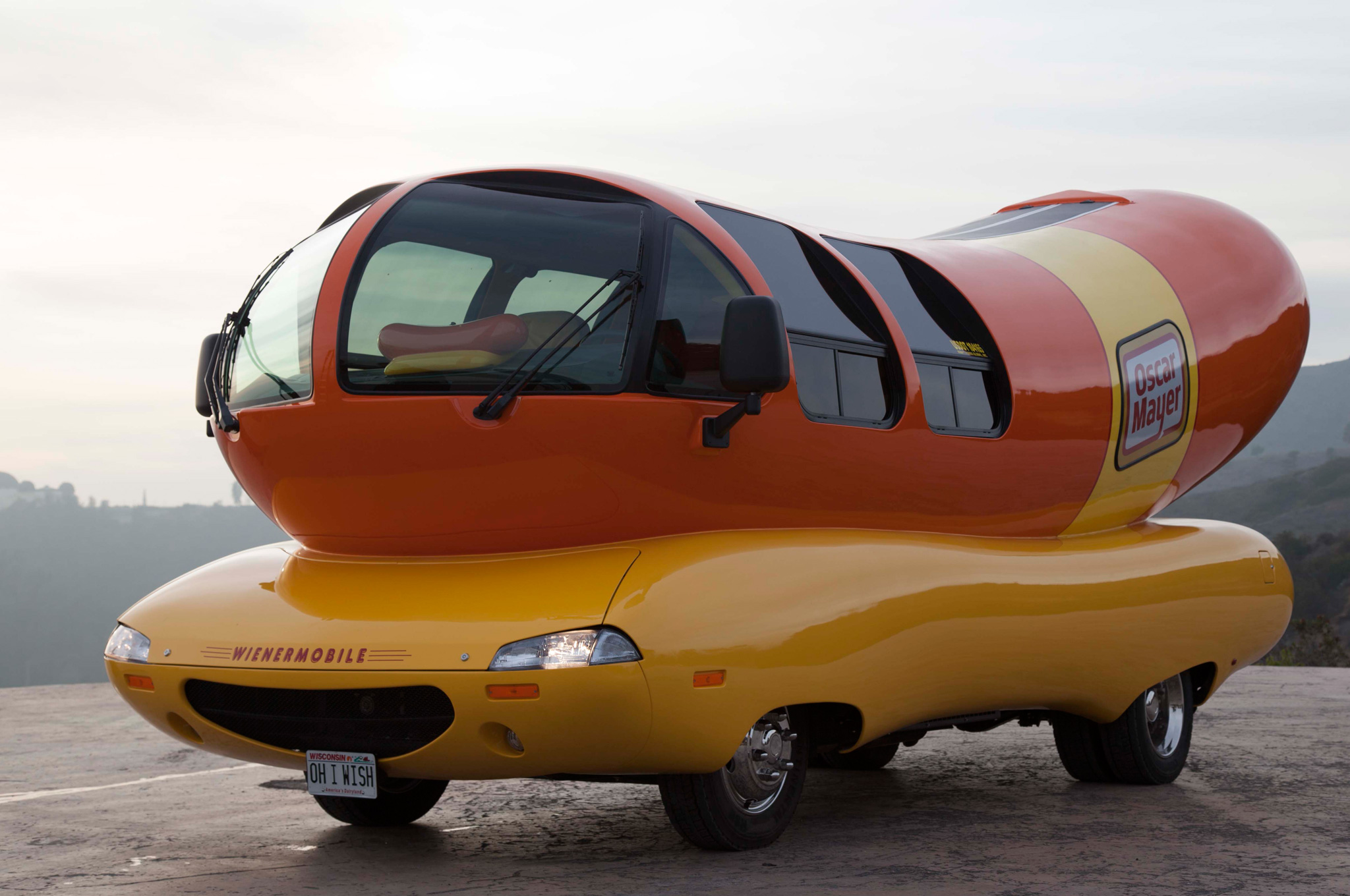 2014 Oscar Mayer Wienermobile: First Vehicle for \