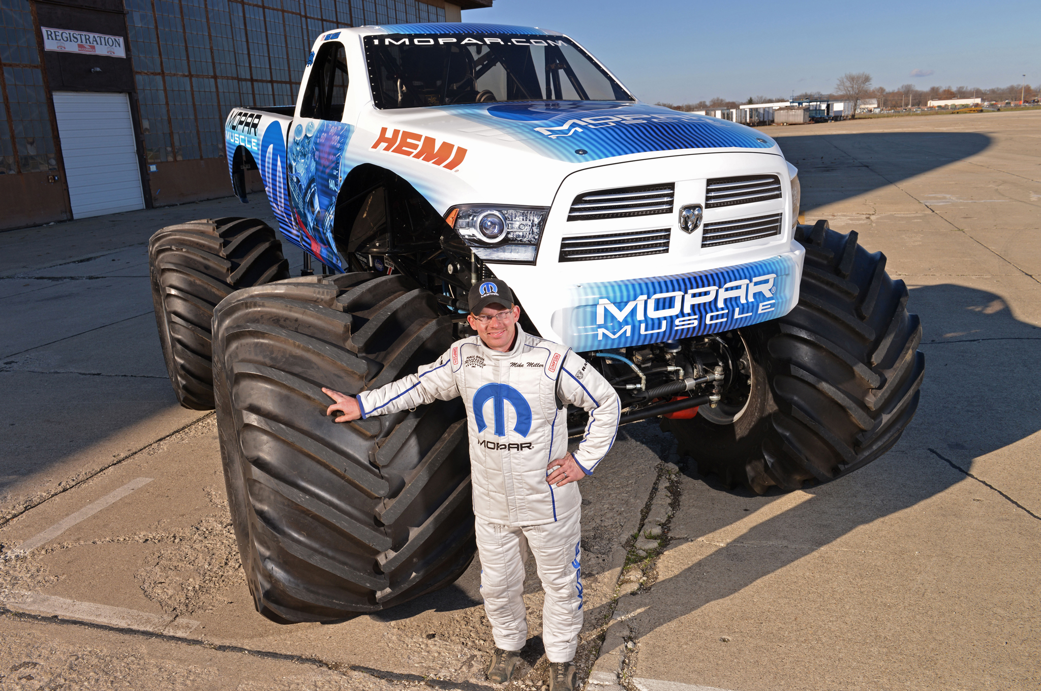 Ram Based Mopar Muscle Coming To The 2014 Monster Truck Racing