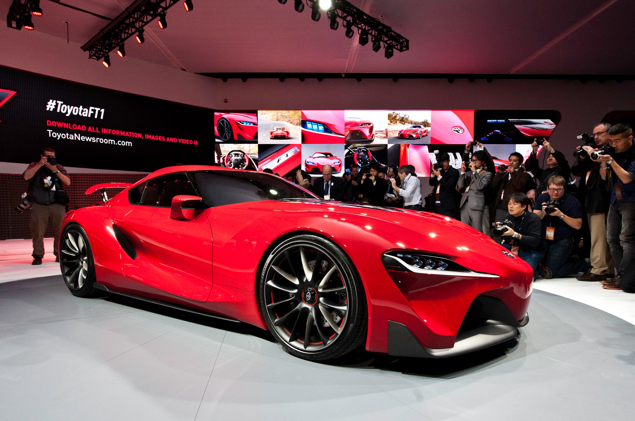 Toyota FT Concept Previews Return Of Supra Motor Trend - Toyota show car