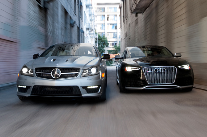 Your Pick: 2014 Audi RS 5 or Mercedes C63 AMG 507? (W/Poll)