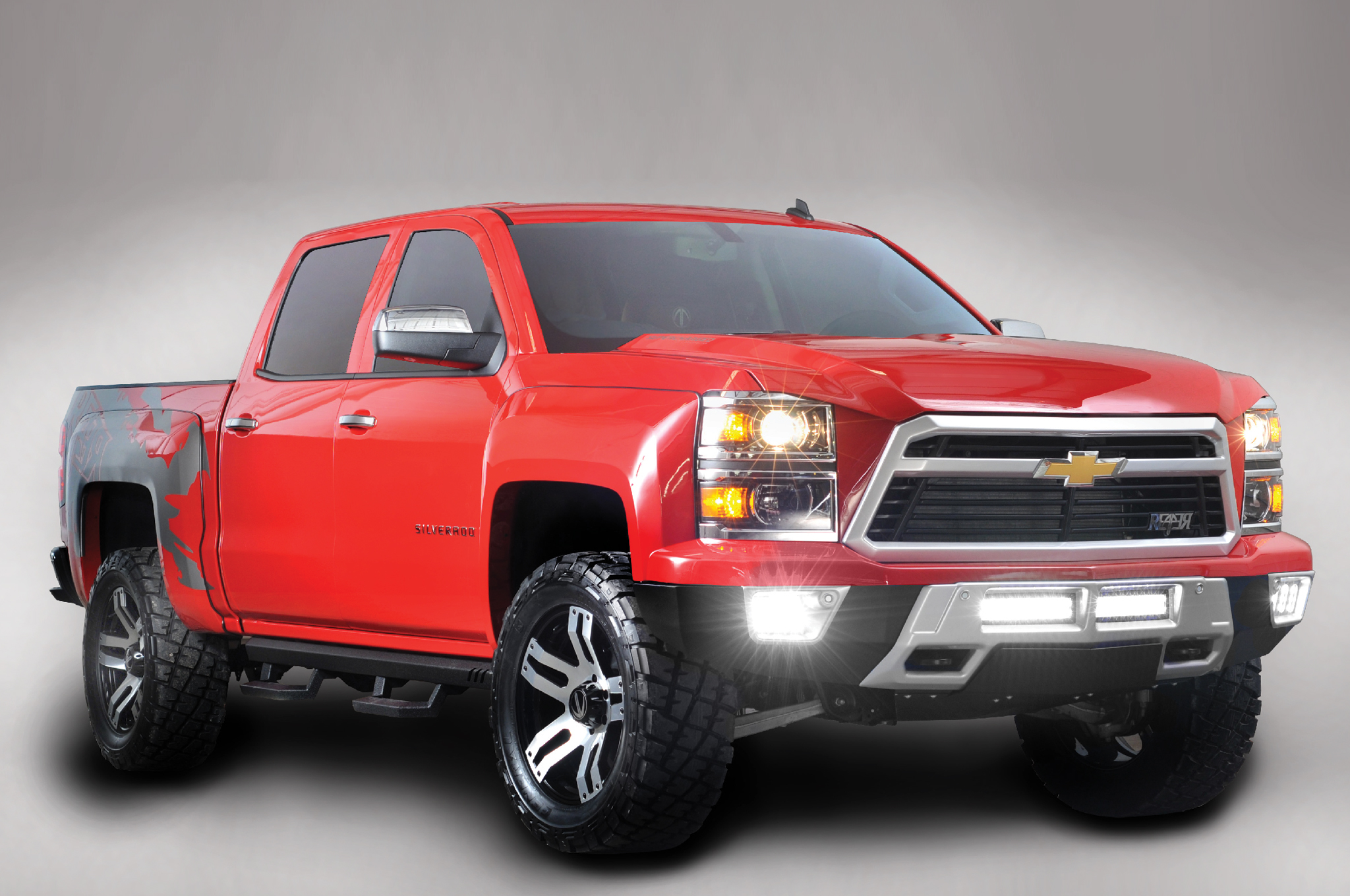 Raptor-Fighting Lingenfelter Reaper Silverado was Originally Named T-Rex