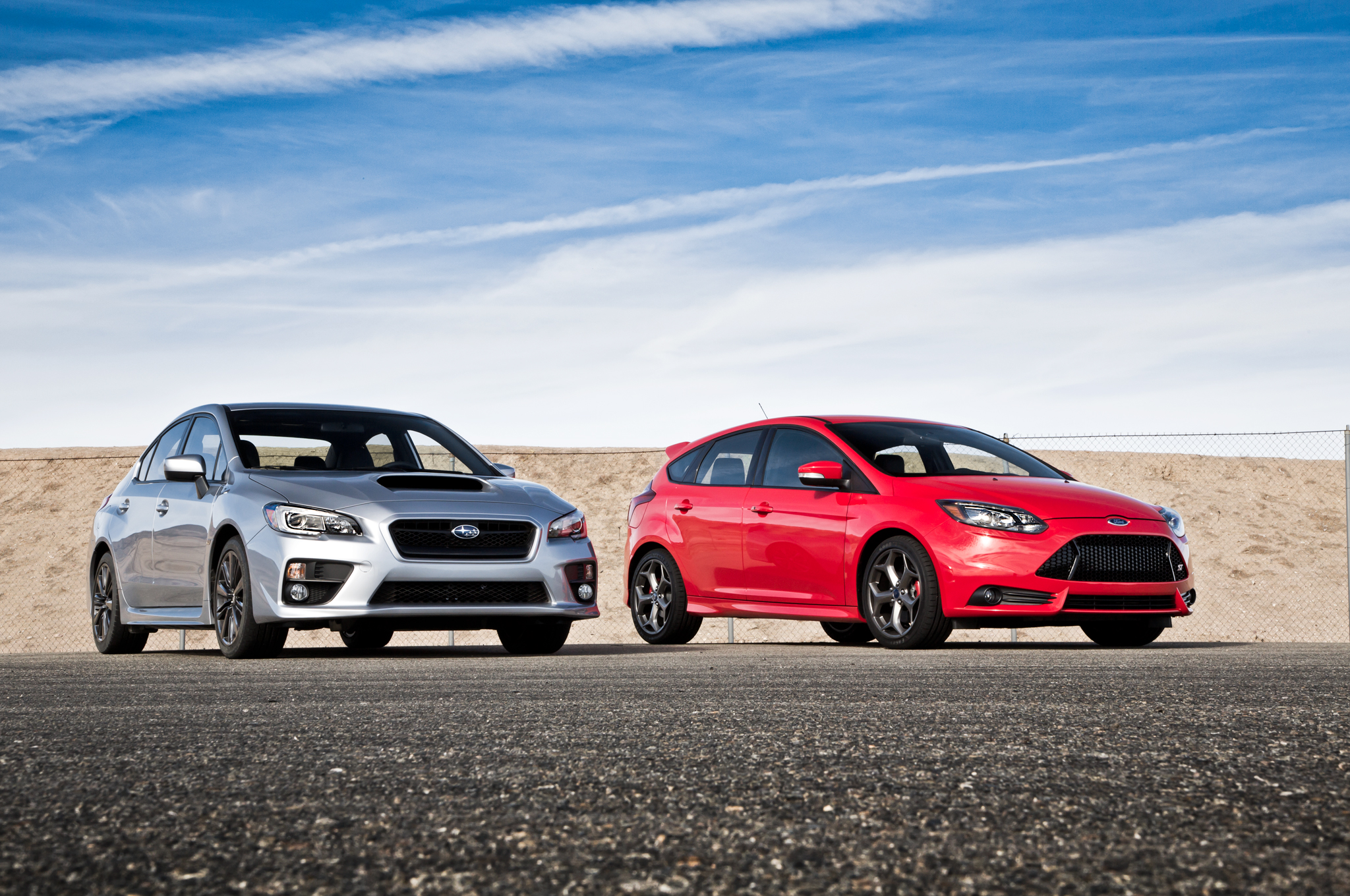 2014 Ford Focus St Vs 2015 Subaru Wrx Comparison Motor Trend