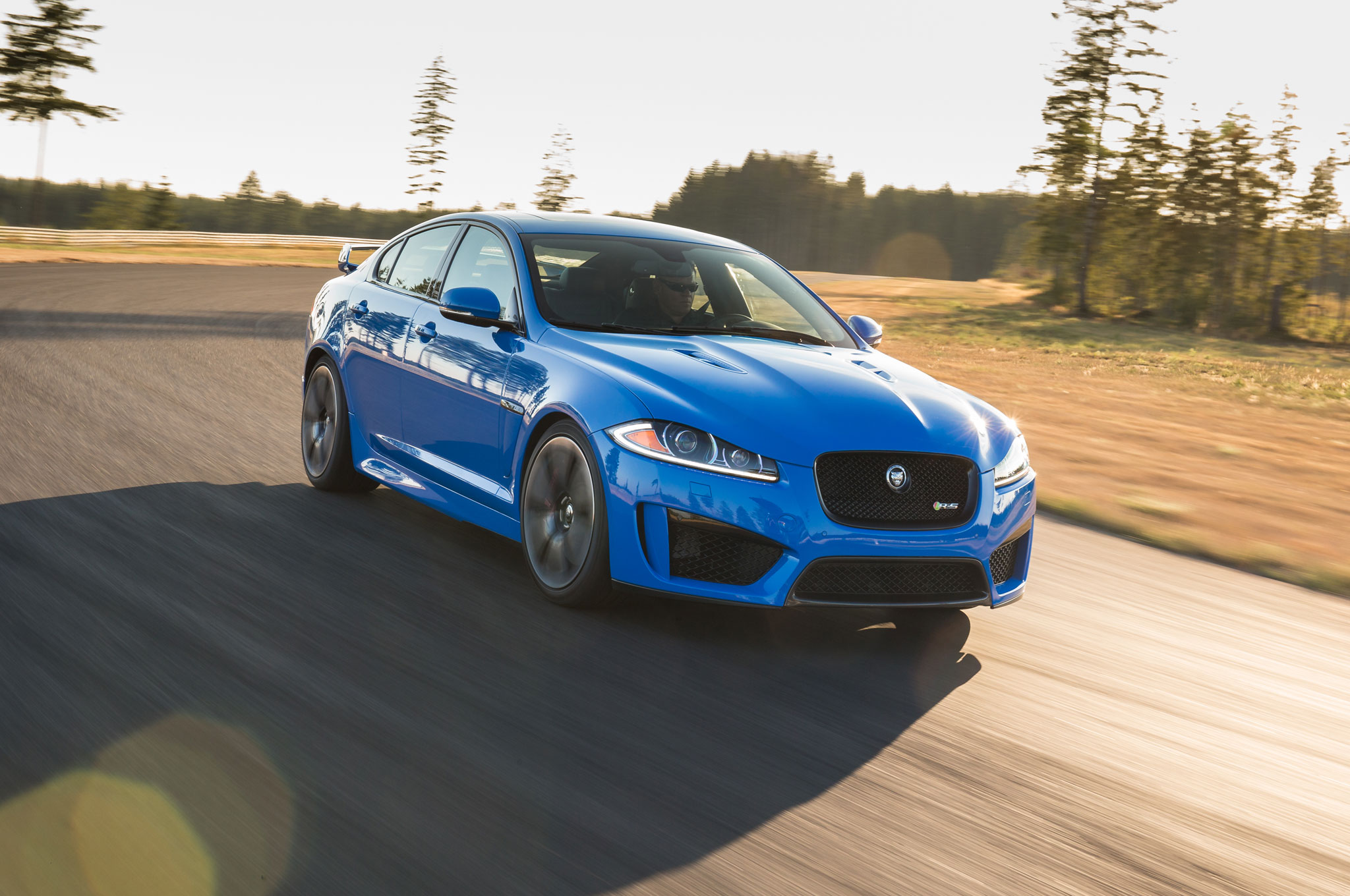 Attractive 2014 Jaguar XFR S First Drive