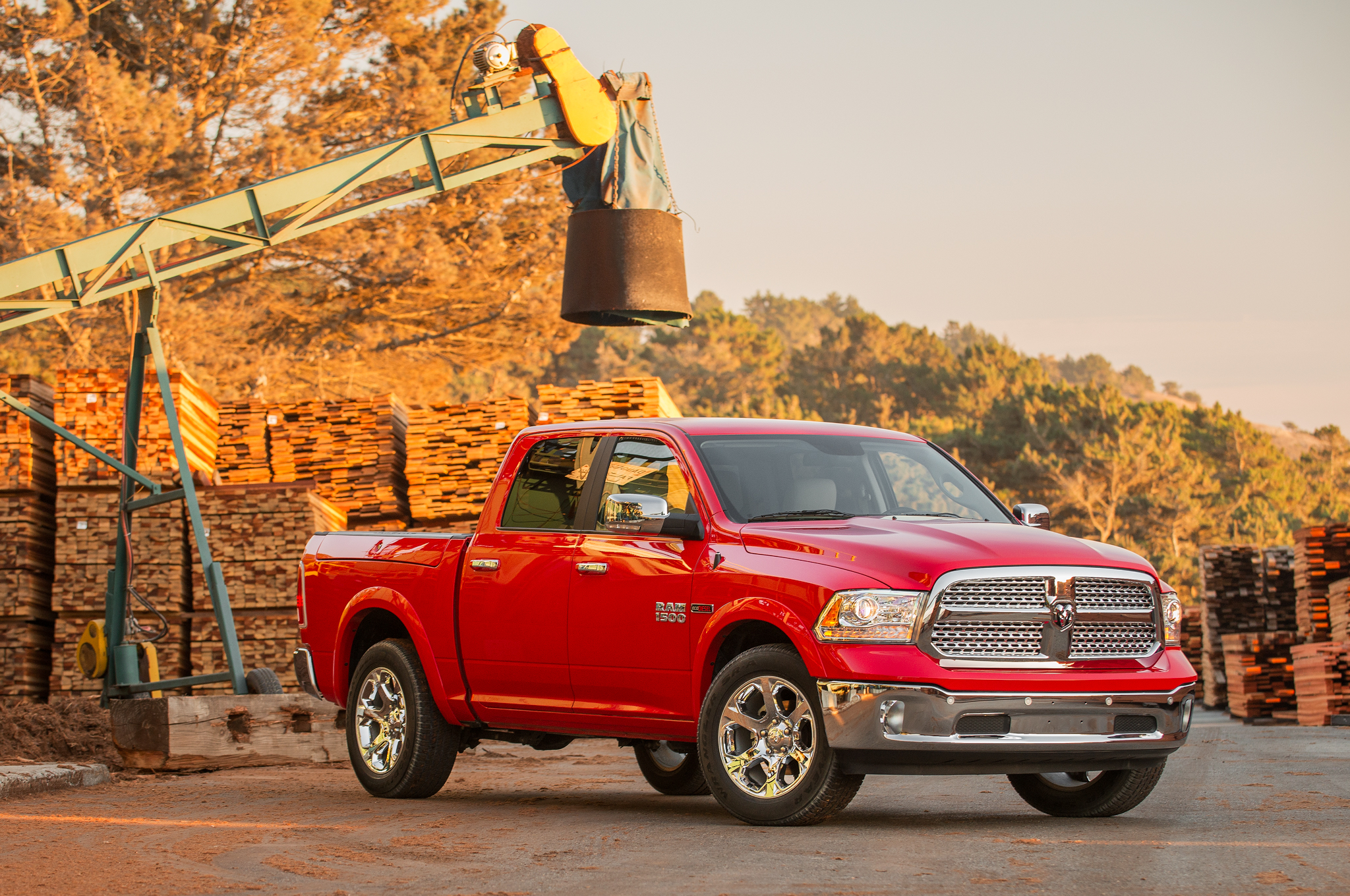 2014 Ram 1500 EcoDiesel EPA-Rated at 20/28 MPG