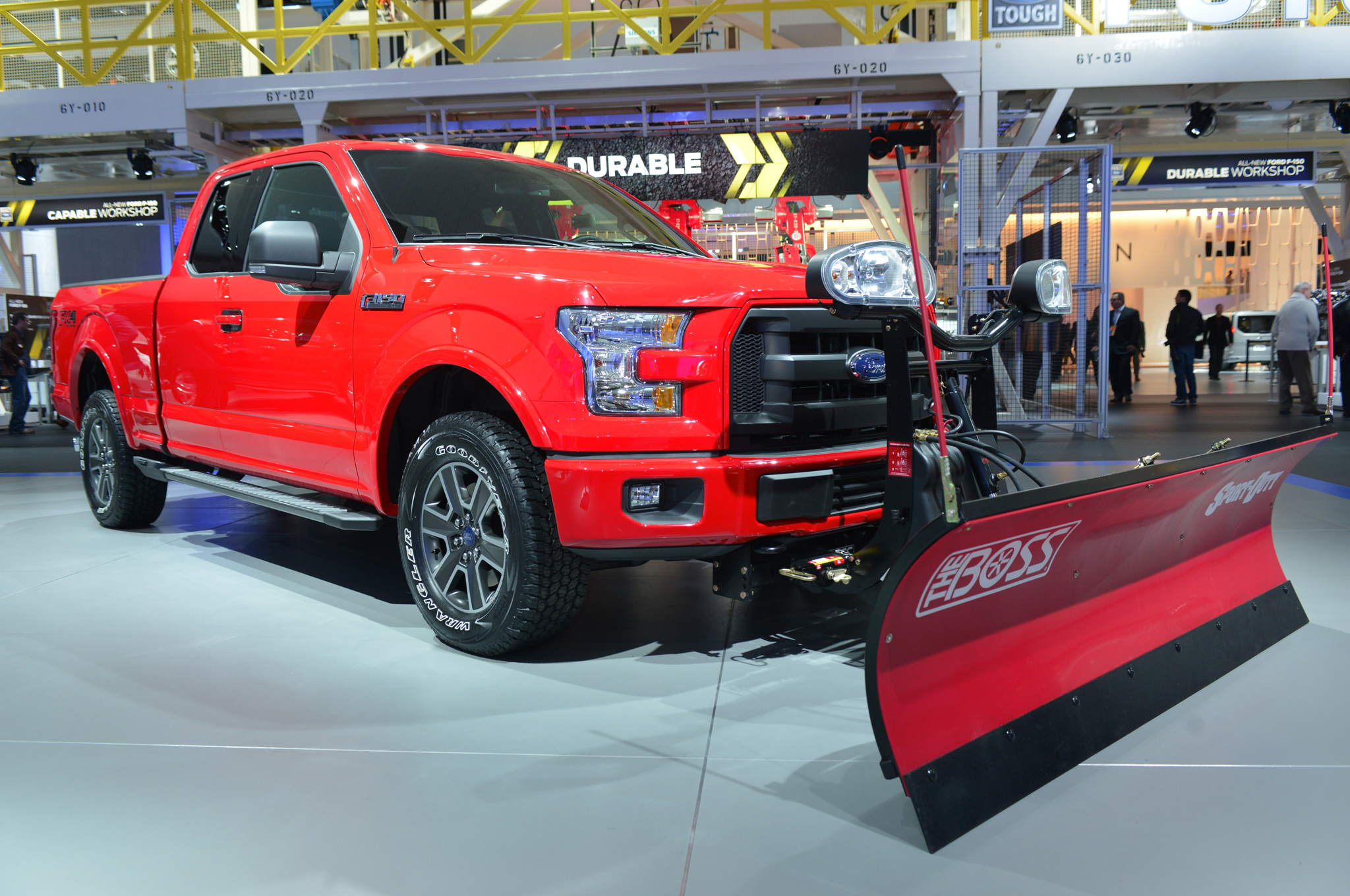 2015 Ford F-150 Snow Plow Prep Option is a Light-Duty First