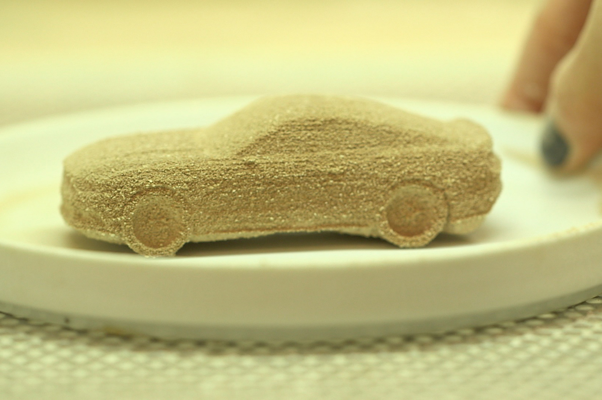2015 Ford Mustang Gets 3D Printed in Chocolate for Valentine's Day