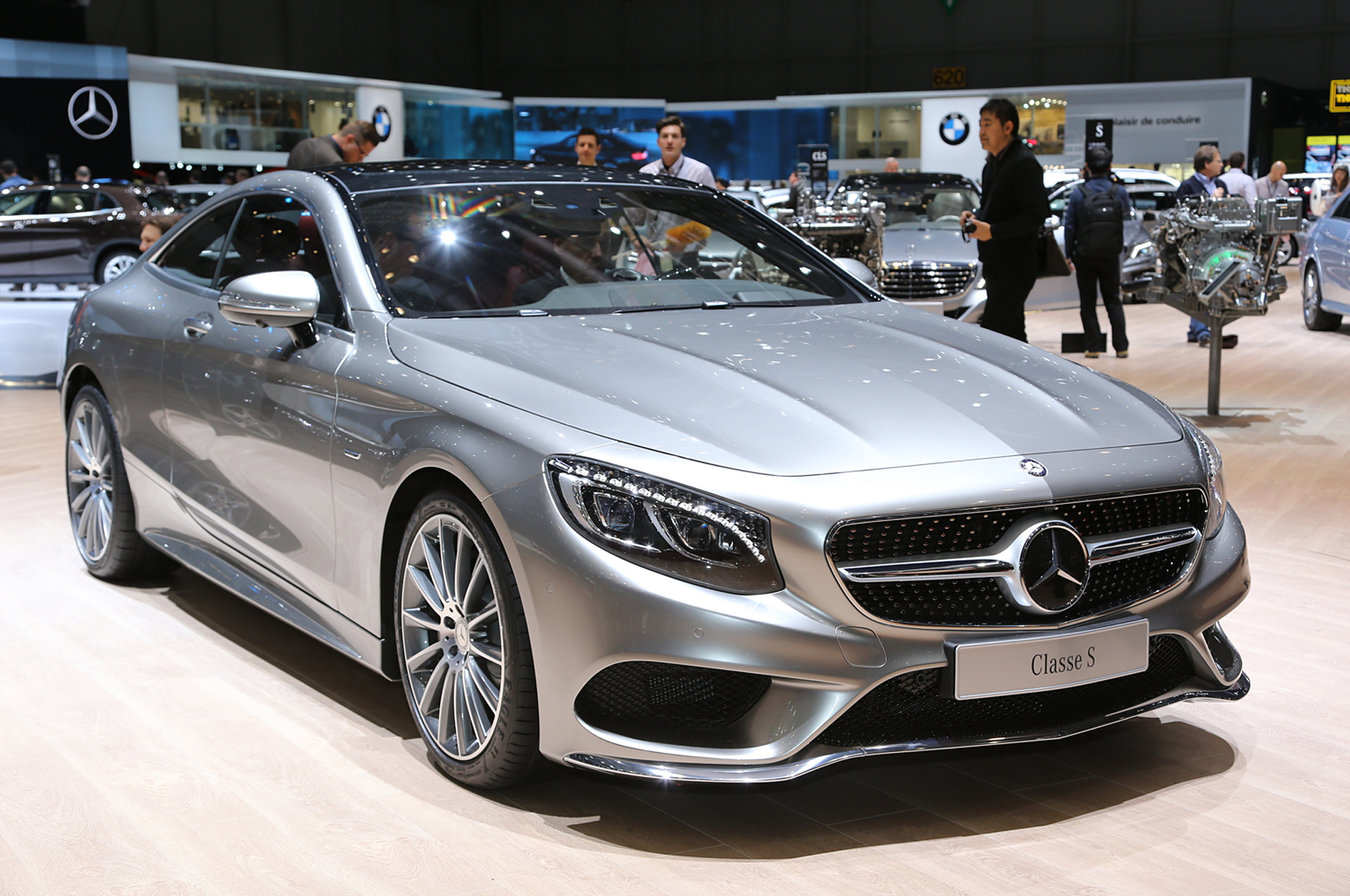 2015 Mercedes-Benz S-Class Coupe First Look - Motor Trend