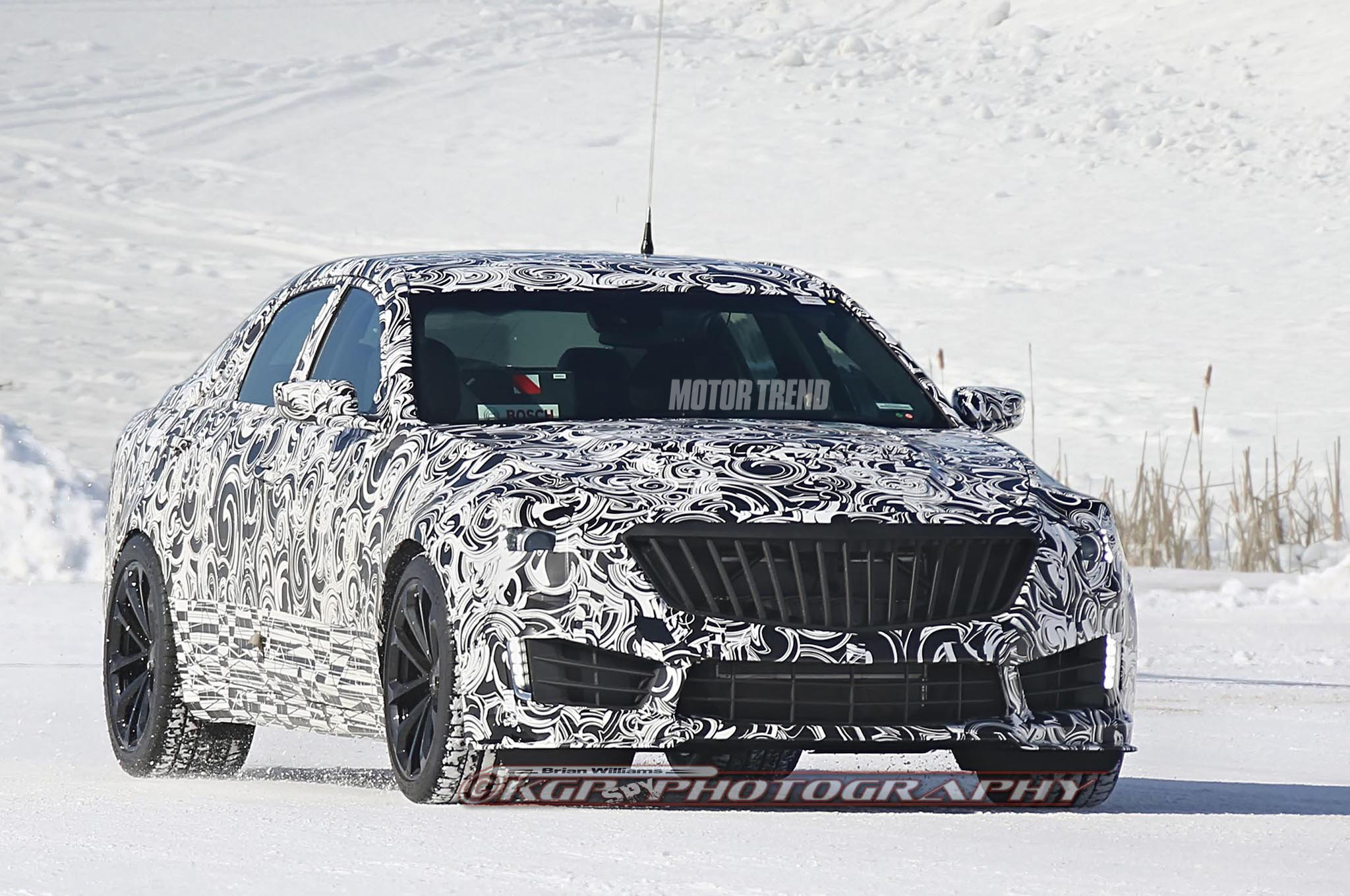 2016 Cadillac CTS-V Prototype Steps Out