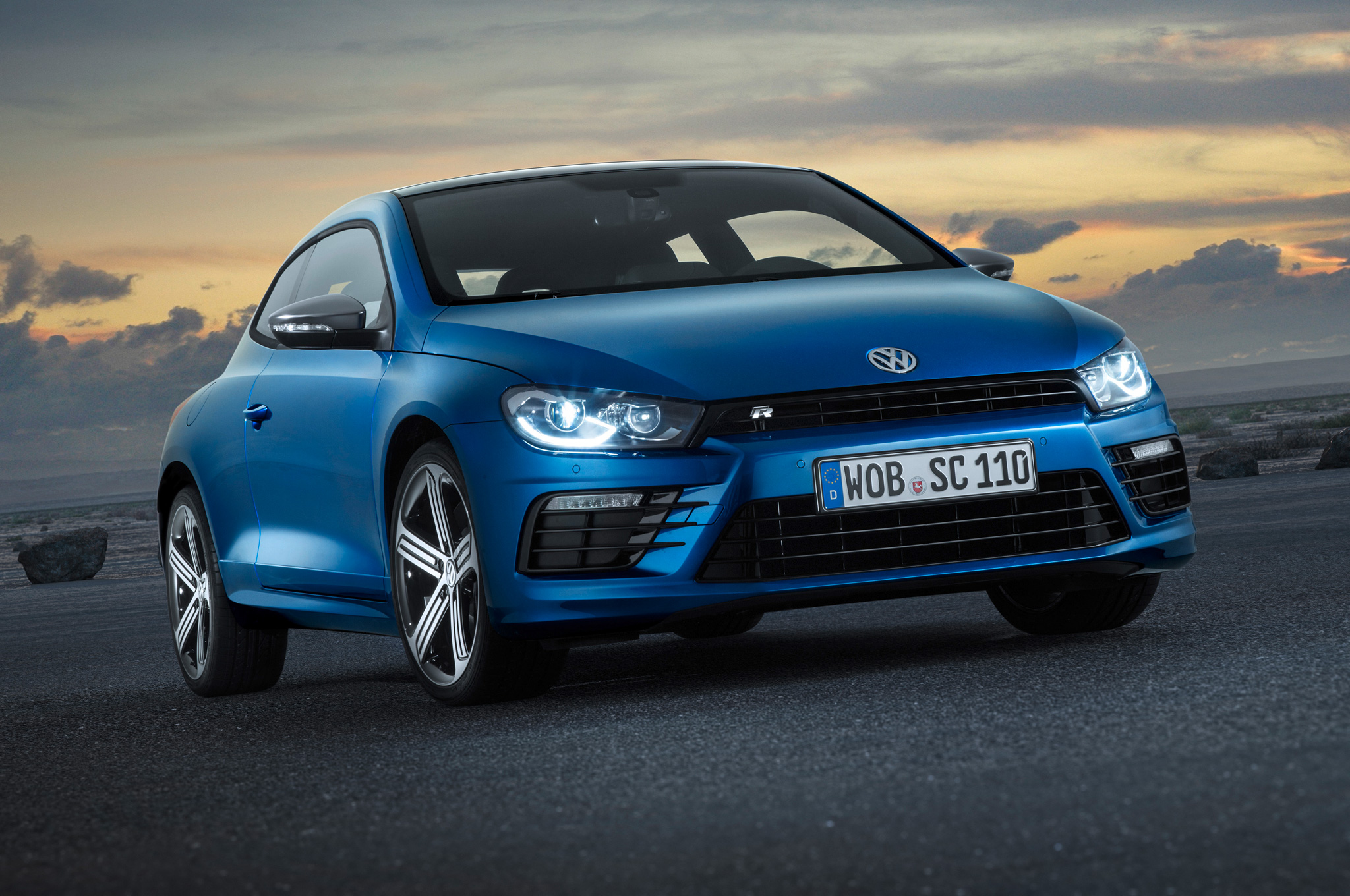 Refreshed Volkswagen Scirocco Hot Hatch Debuts Before Geneva Motor Show