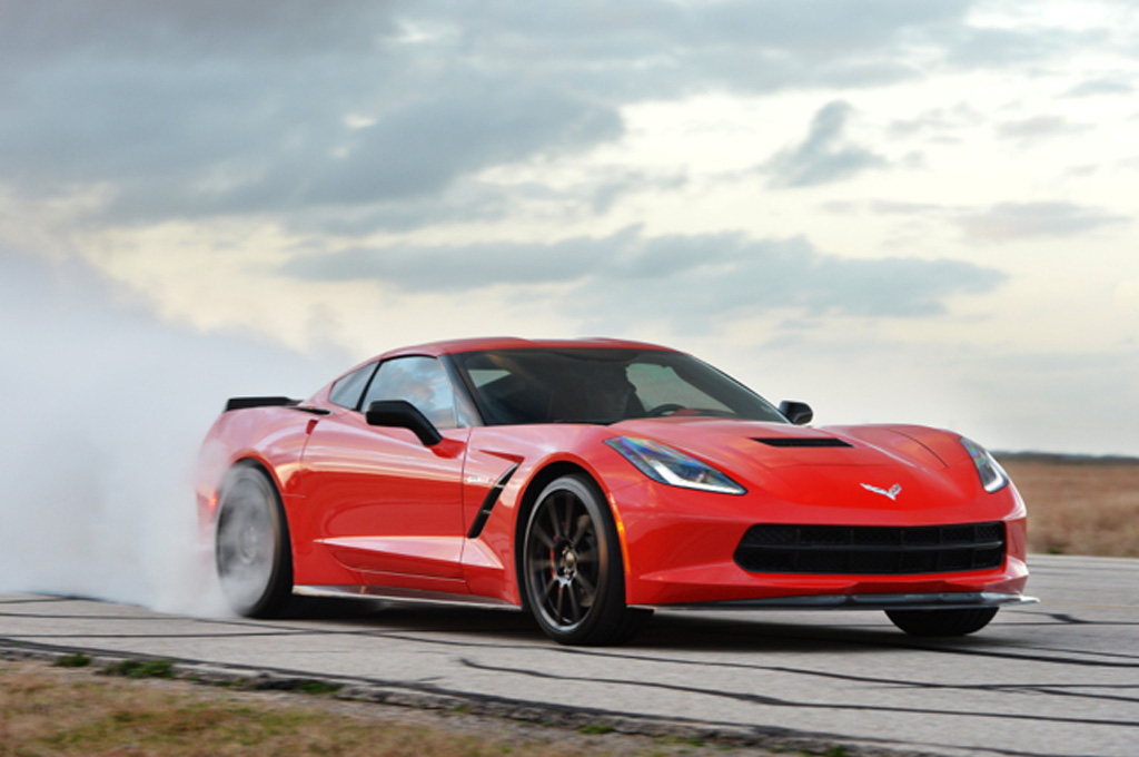Hennessey Introduces Corvette HPE700 With Mean Burnout Video