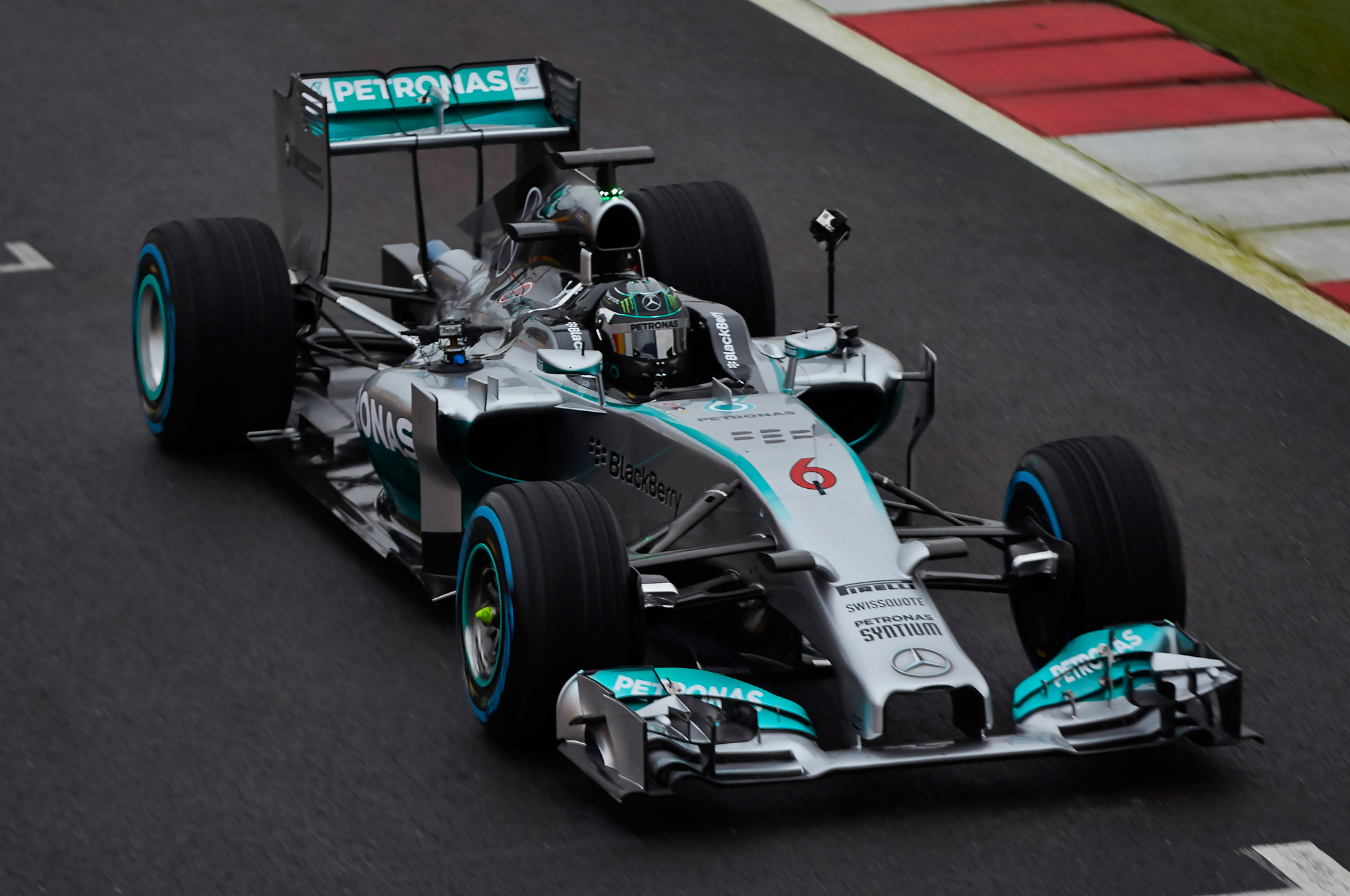 Mercedes 360-Degree Videos Give New Perspective on Formula 1