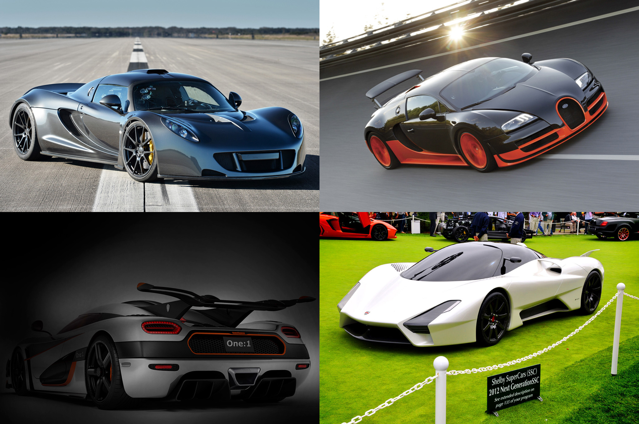 TOTD: Which Production Car Will Reach 300 MPH First?