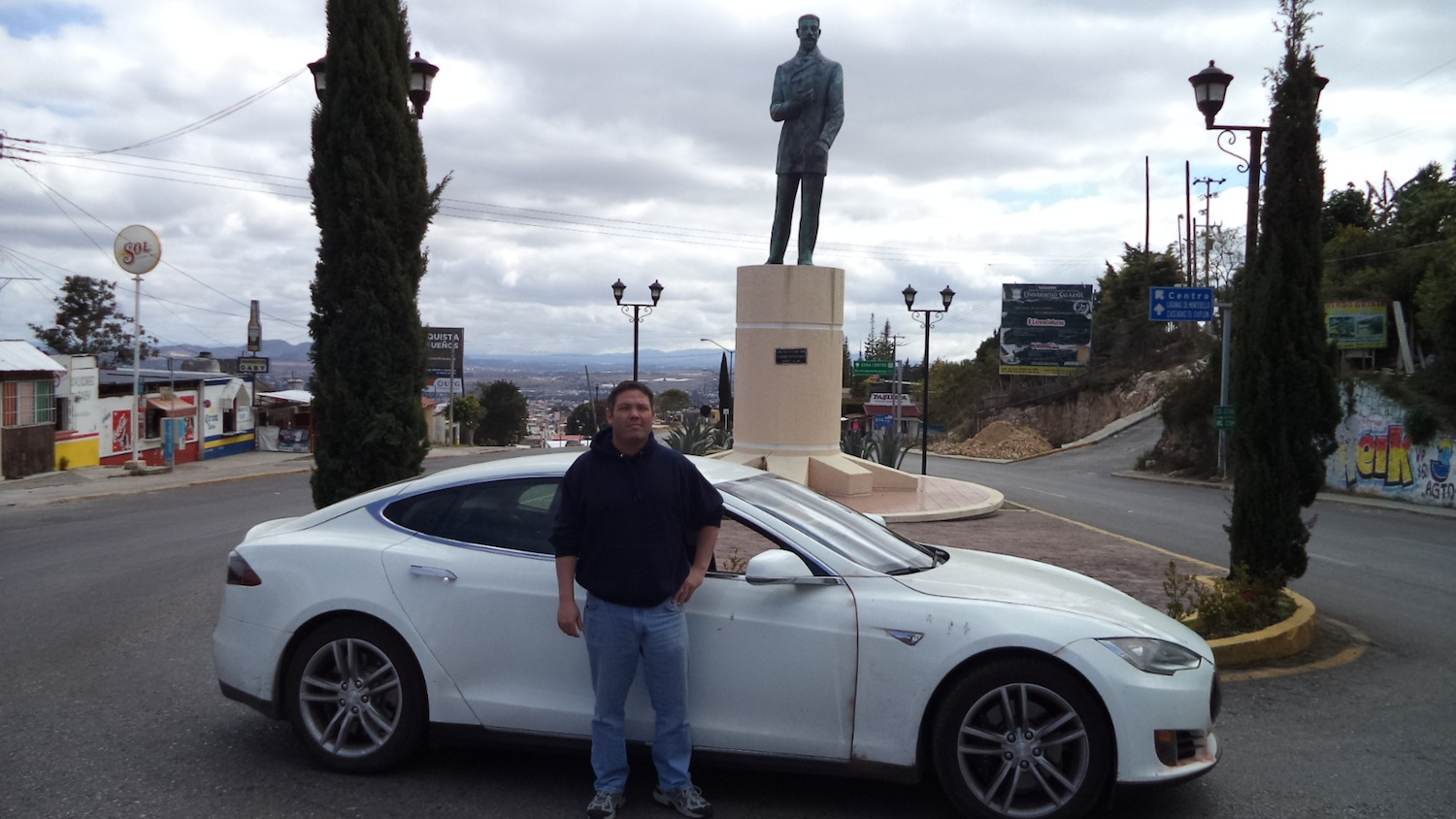 Tesla Model S Owner Drives from Texas to Panama