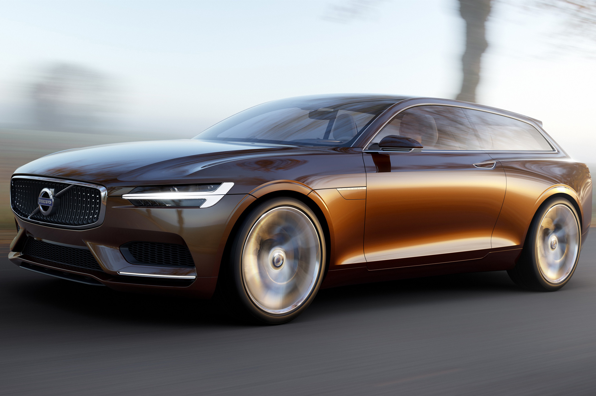 Volvo Concept Estate Officially Revealed, Looks Even Better in Hi-Res