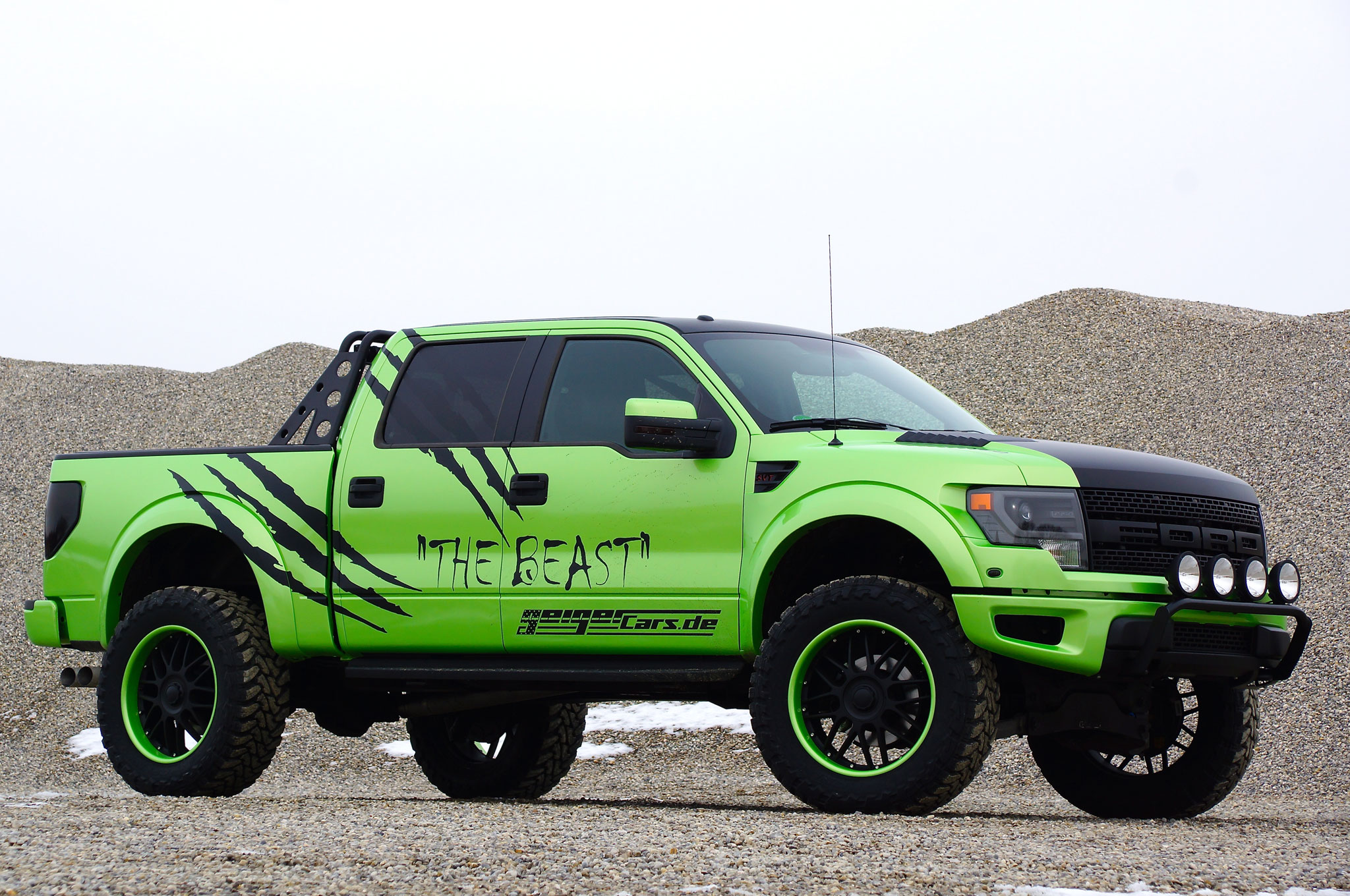 German Tuner Geiger Cars Launches 572-HP Ford F-150 SVT Raptor