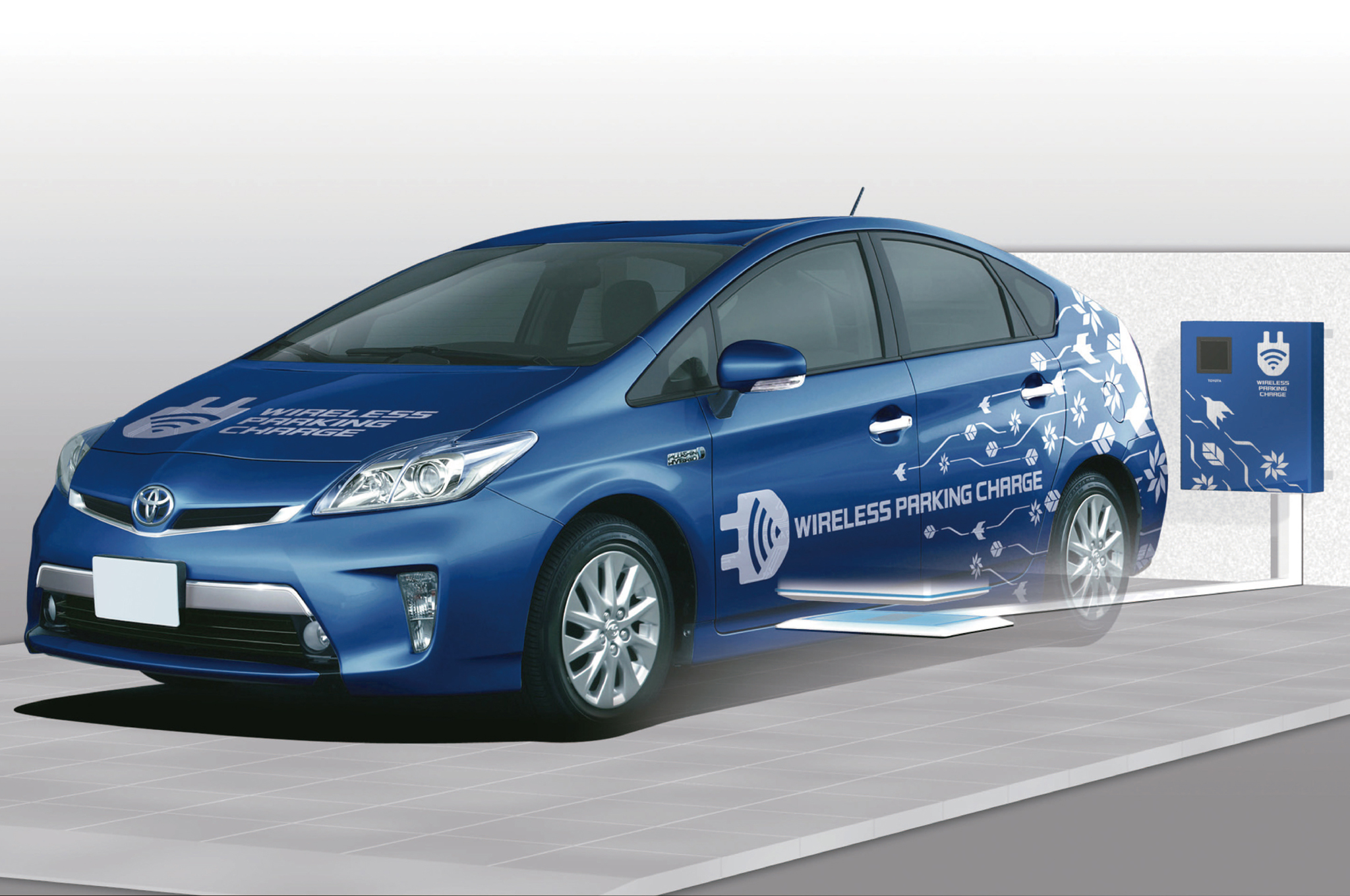 Toyota Developing Wireless Charging System