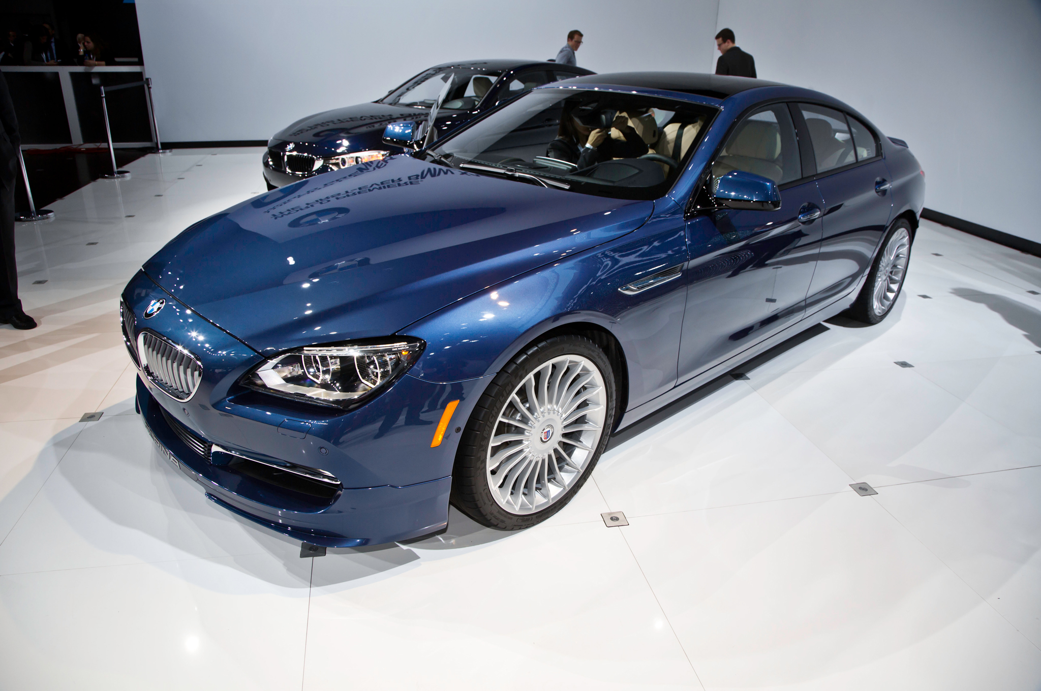 2015 BMW Alpina B6 xDrive Gran Coupe Coming to U.S., Starts at $118,225