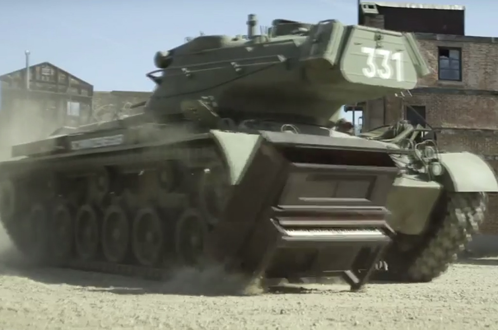 Arnold Schwarzenegger Wants to Crush Stuff With You in His Tank