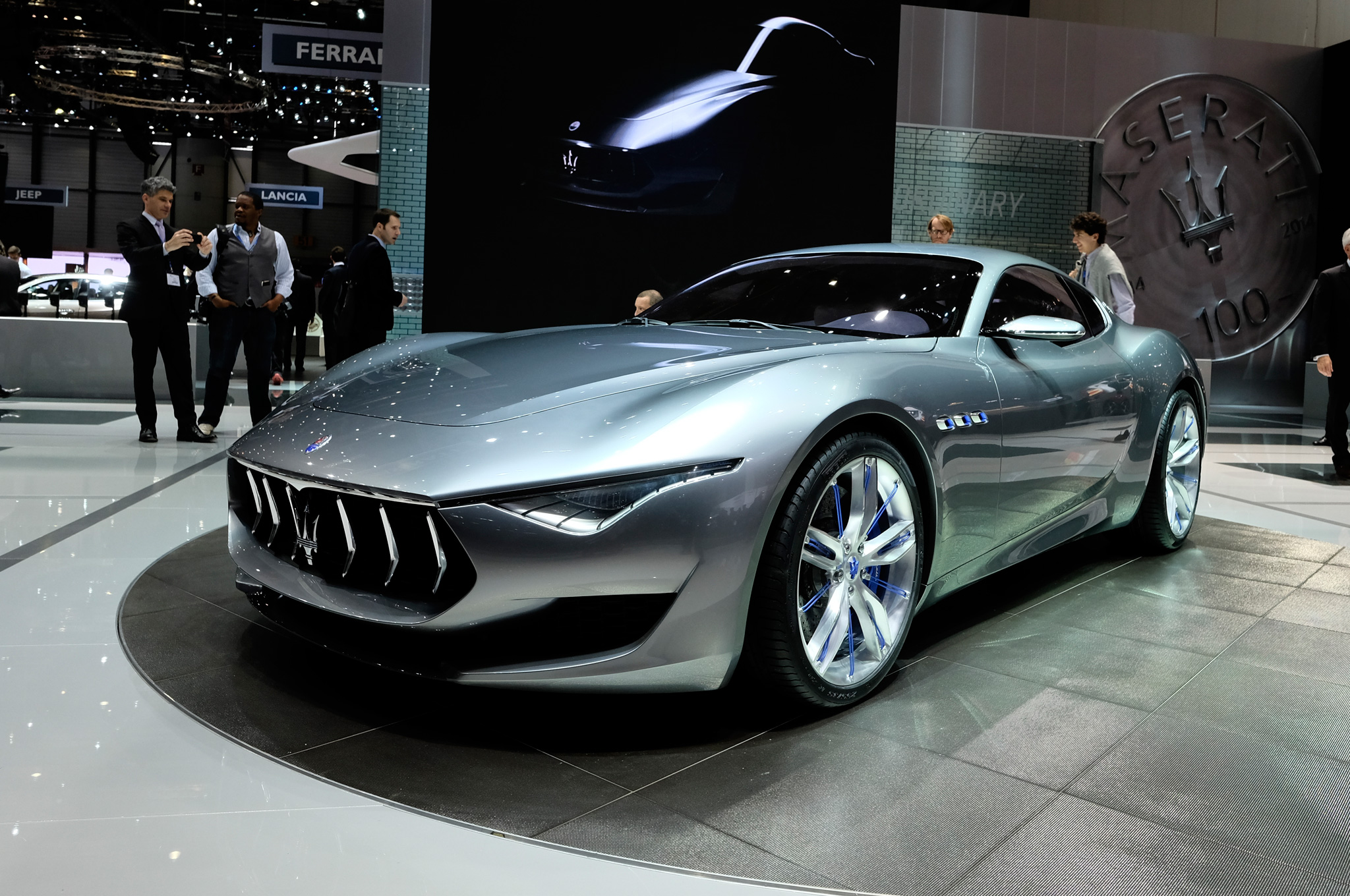 Maserati Alfieri Concept Looks Forward at Geneva 2014 - Motor Trend
