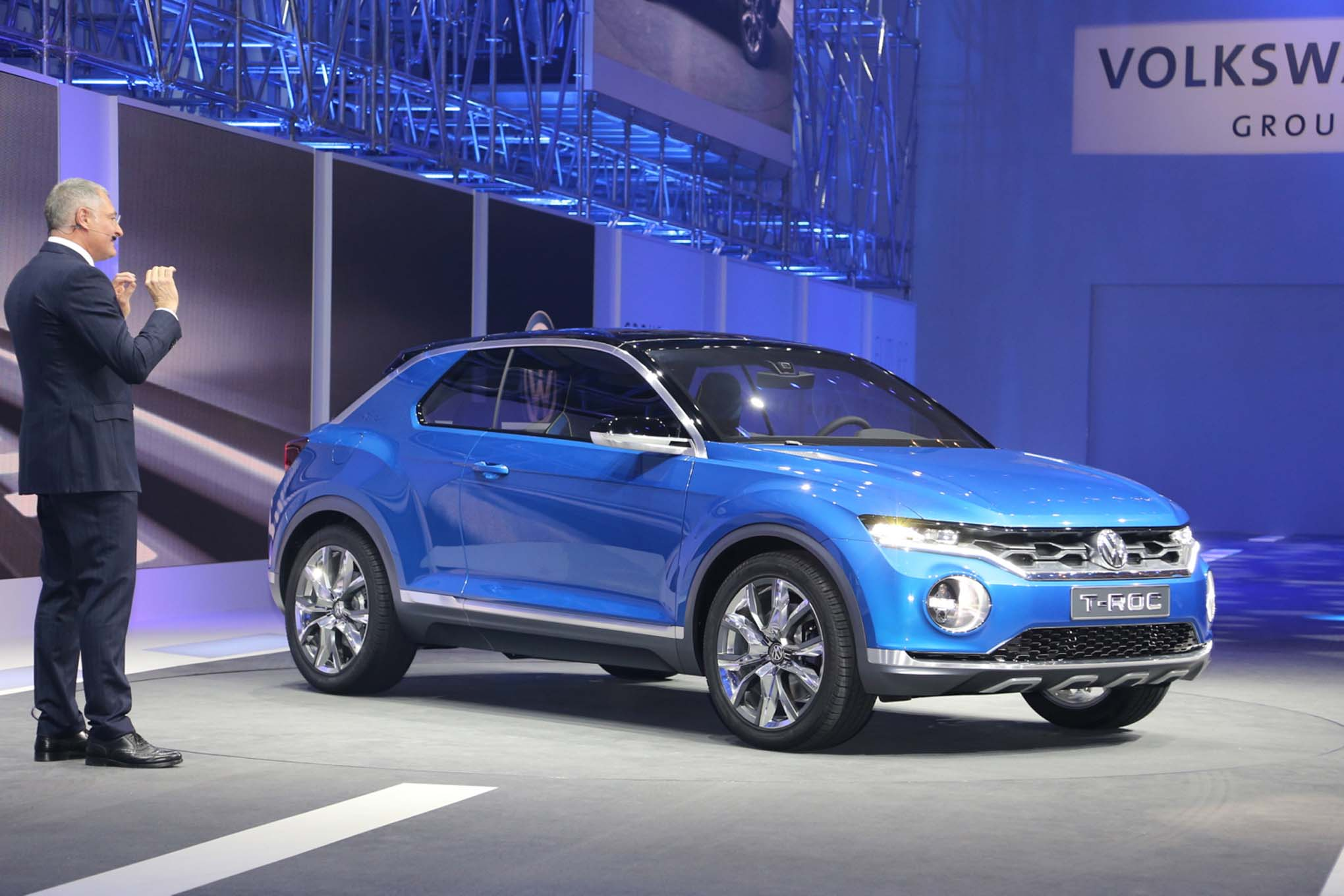Volkswagen CEO Says T-ROC Concept Could be Built if Demand is Strong