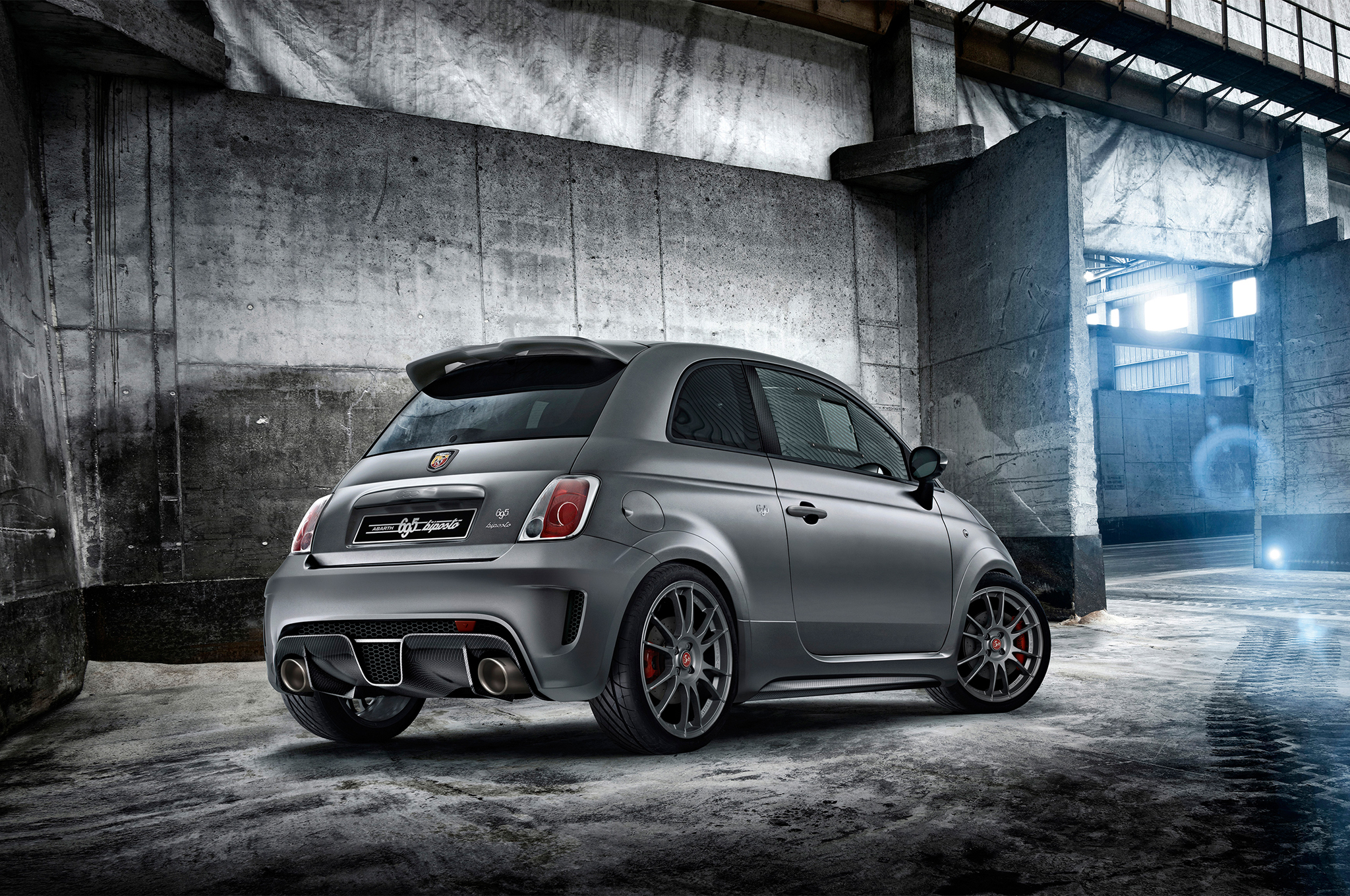 Abarth 695 Biposto is Light, Fast, and Packed with Mods