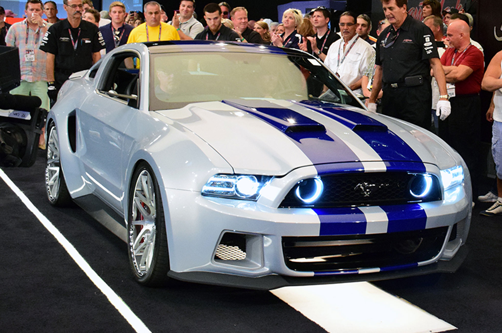 2013 ford mustang need for speed at auction front three quarters