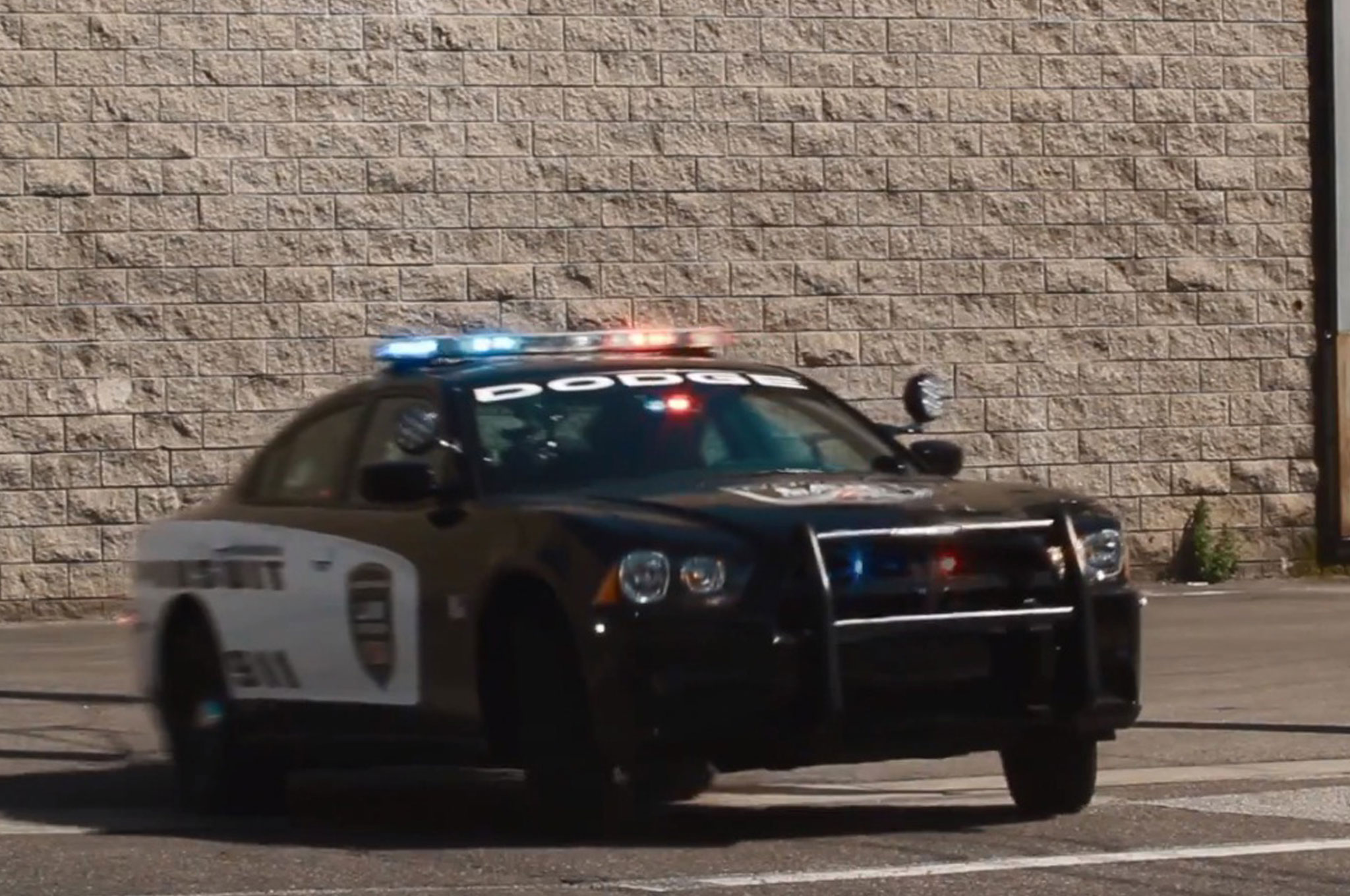 Dodge Charger Police Car Enforces the Law on World\'s Fastest Car ...