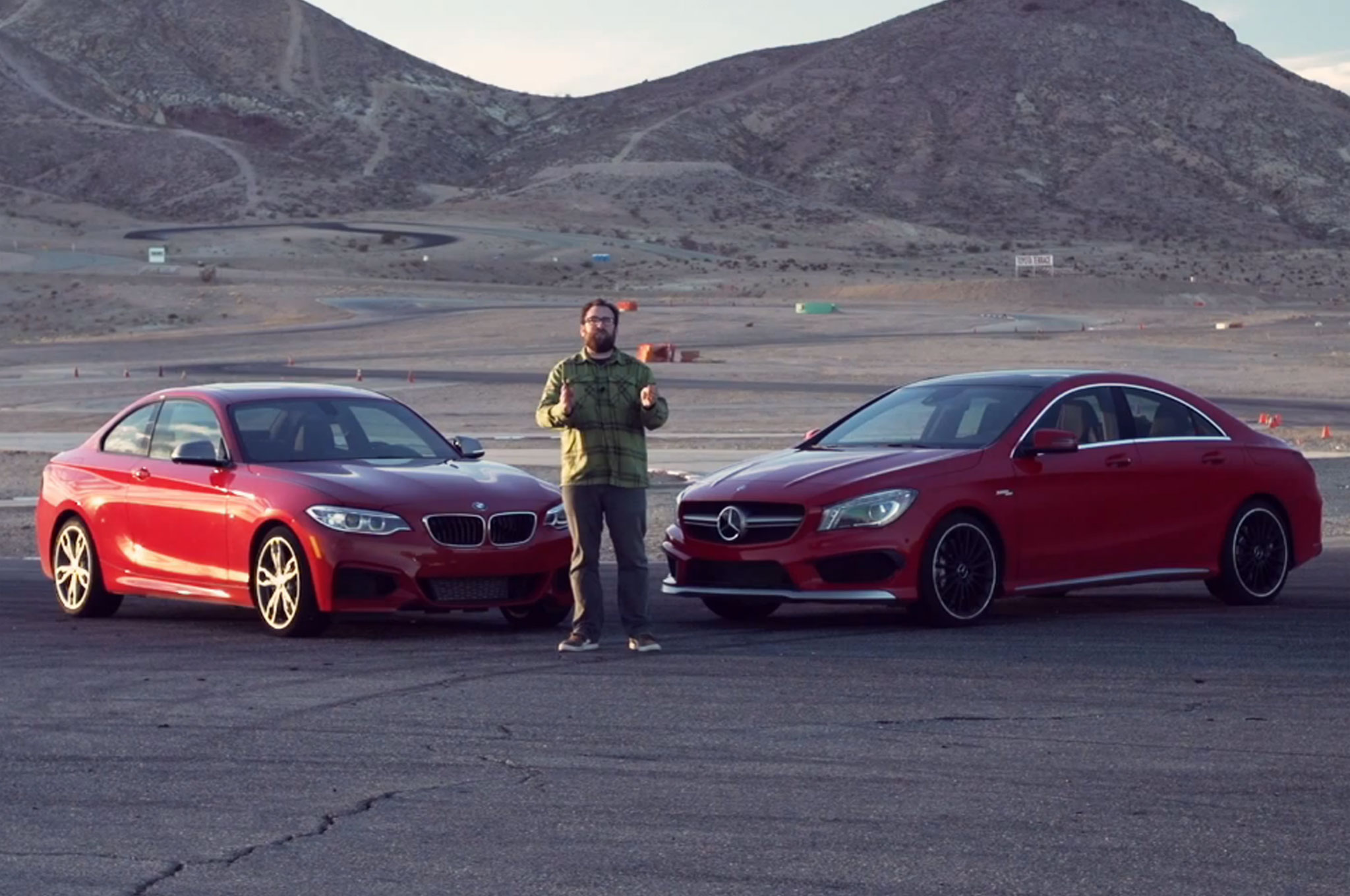 2014 BMW M235i, Mercedes-Benz CLA45 AMG Shoot Out (W/Video)