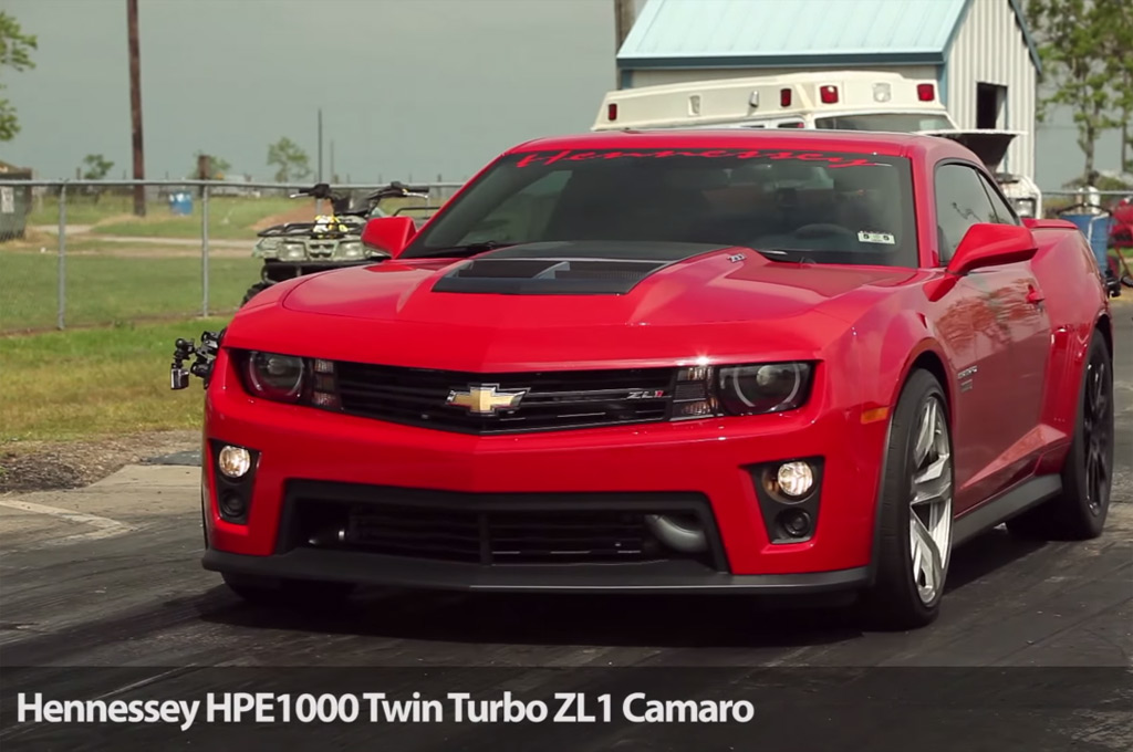 Hennessy Camaro ZL1 HPE1000 Hits the Strip (W/Video)